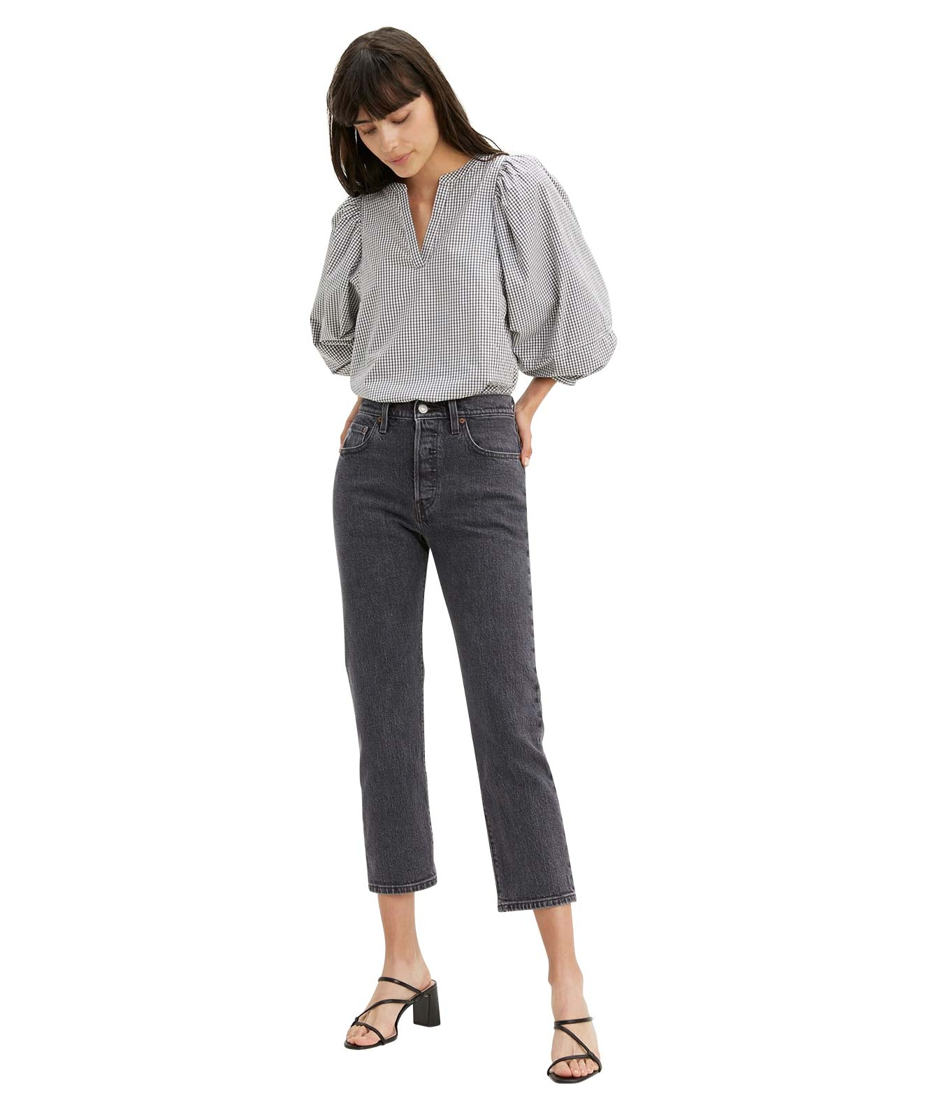 Hosen - Levis Ankle Jeans 501 Crop in Cabo Fade  - Onlineshop Jeans Meile