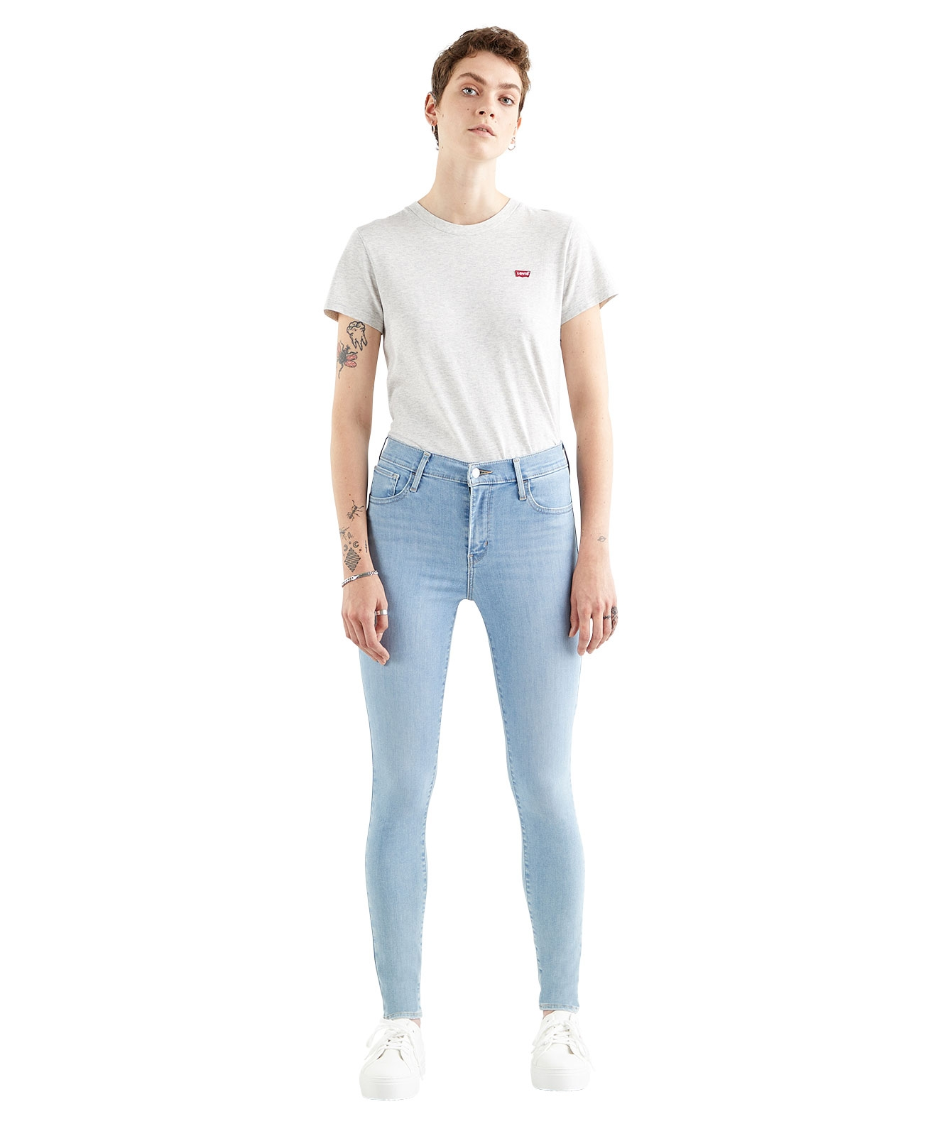 Hosen - Levis High Waisted Jeans 720 High Rise in Galaxy Piece Of Cake  - Onlineshop Jeans Meile