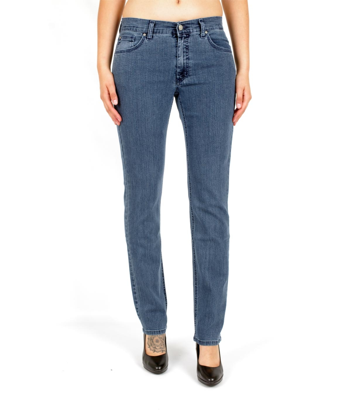 Hosen - Angels Straight Leg Jeans Cici in Superstone  - Onlineshop Jeans Meile