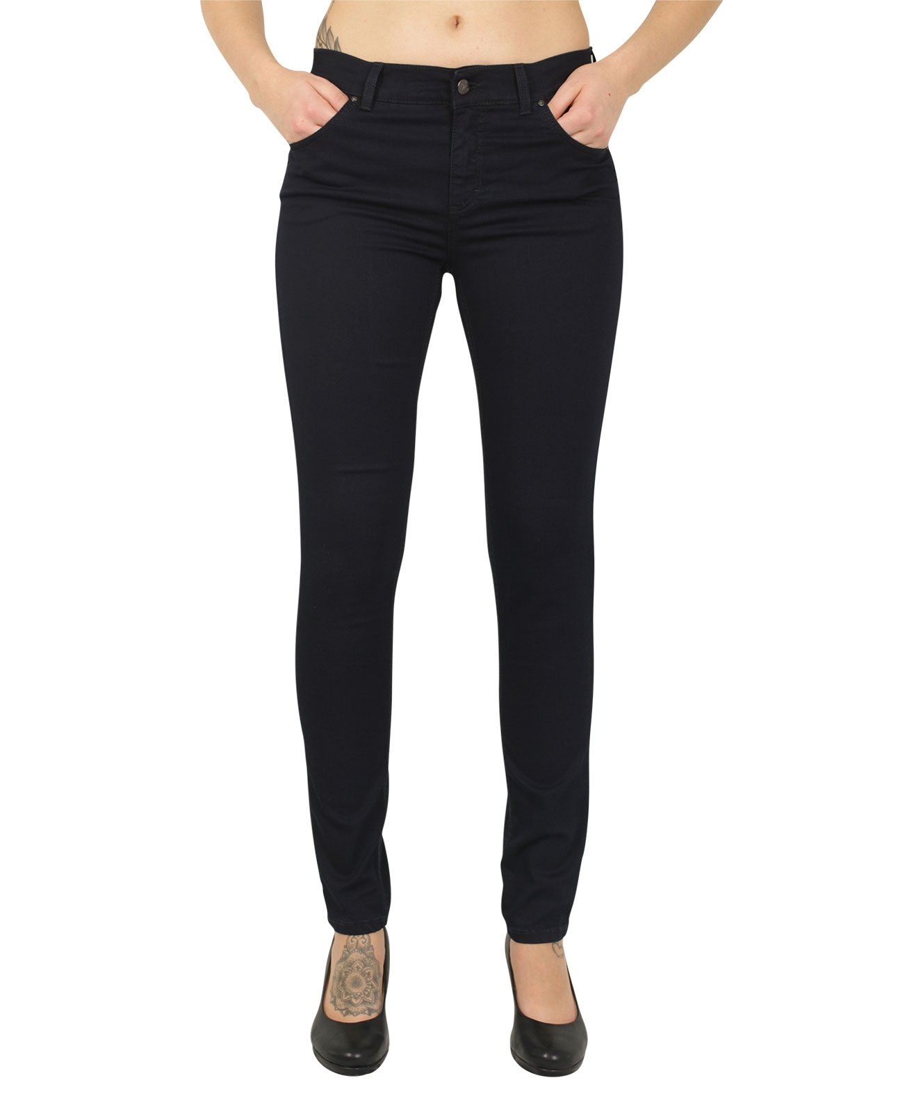 Hosen - Angels Jeans Röhre Skinny in Night Blue  - Onlineshop Jeans Meile
