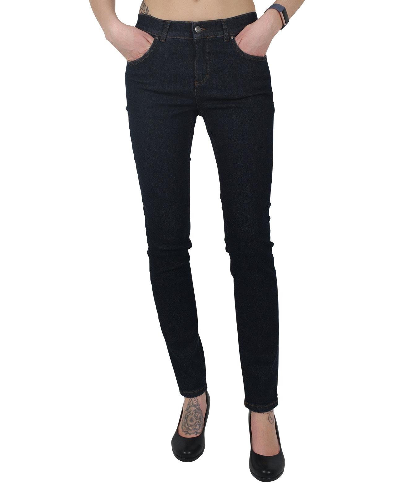 Hosen - Angels Jeans Röhre Skinny in Dark  - Onlineshop Jeans Meile