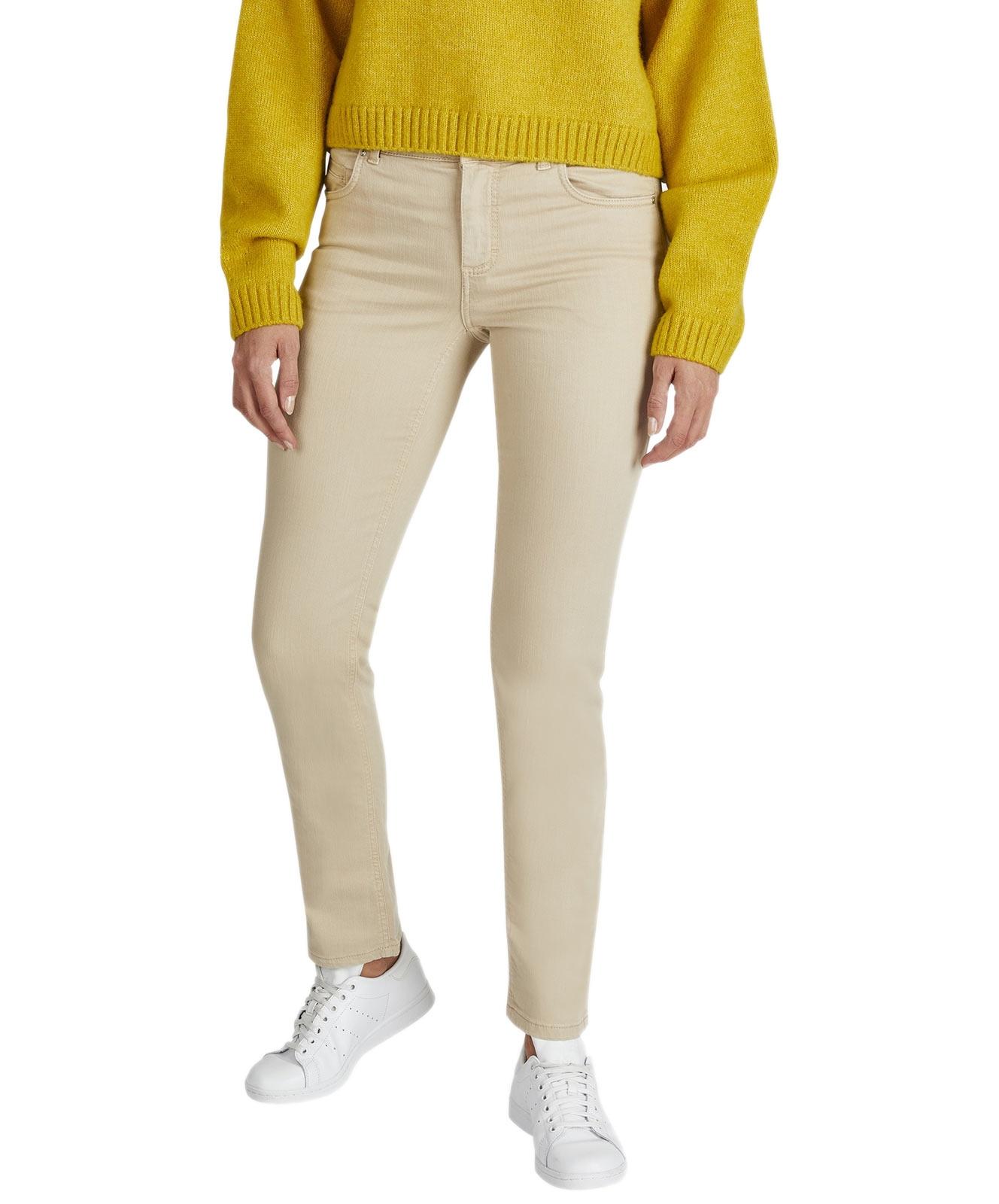 Hosen - Angels Straight Leg Jeans Cici in Latte  - Onlineshop Jeans Meile