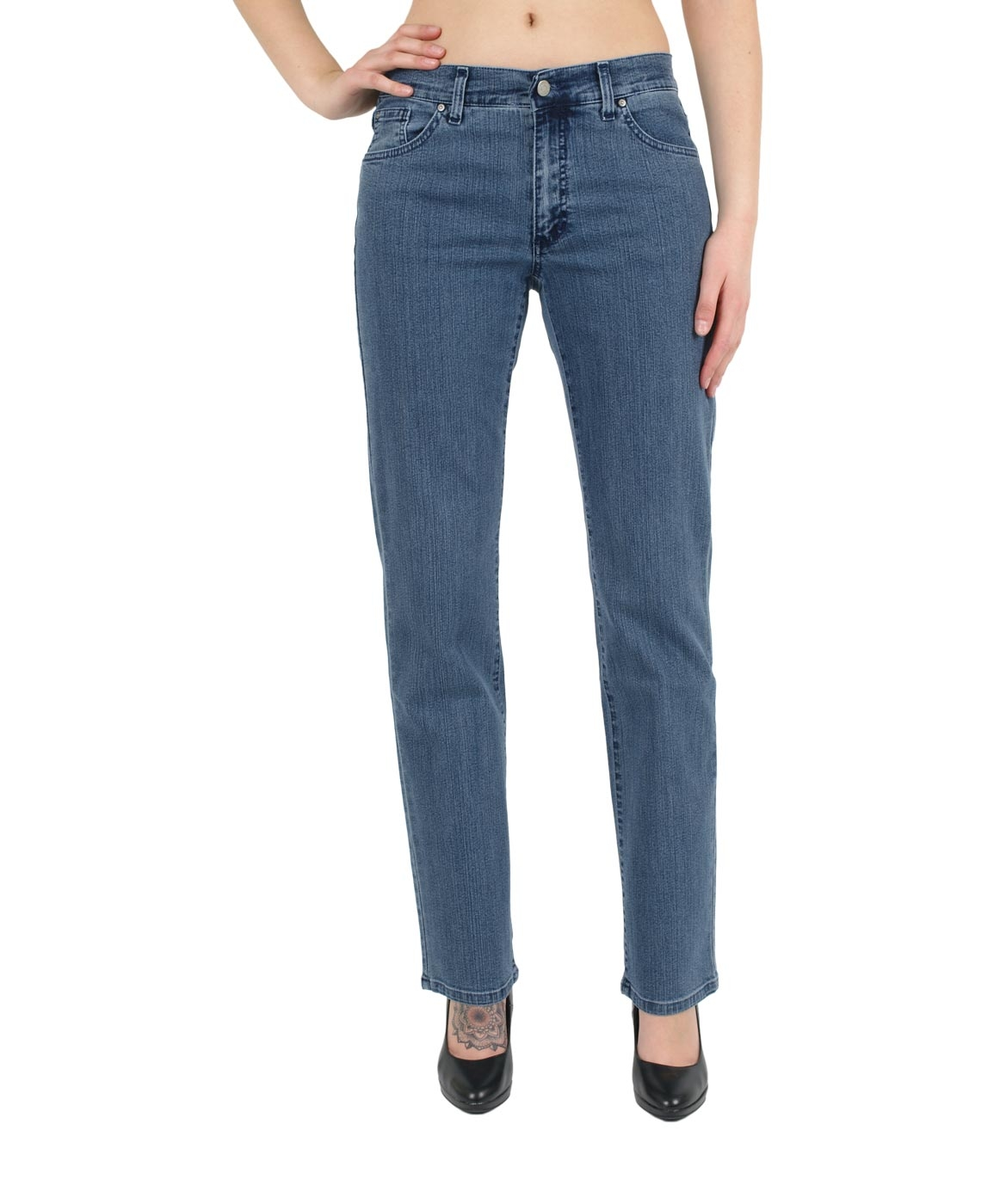 Hosen - Angels Straight Leg Jeans Dolly in Superstone  - Onlineshop Jeans Meile