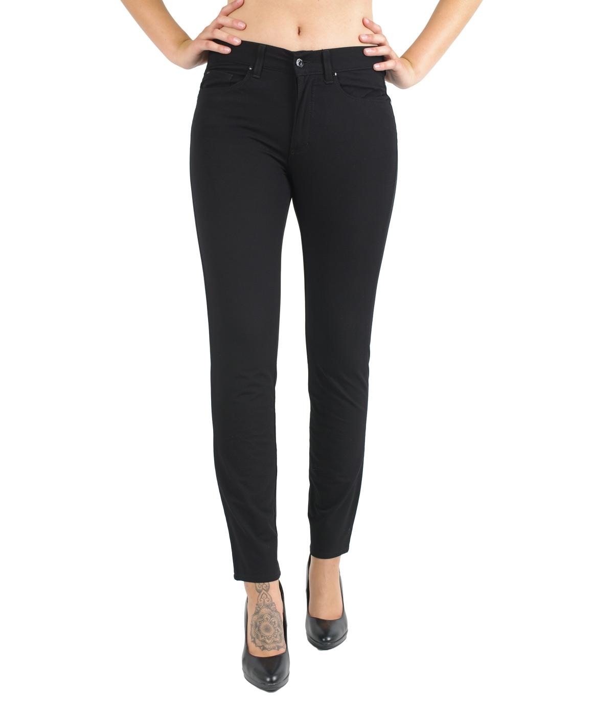 Hosen - Angels Jeans Röhre Skinny in Jet Black  - Onlineshop Jeans Meile