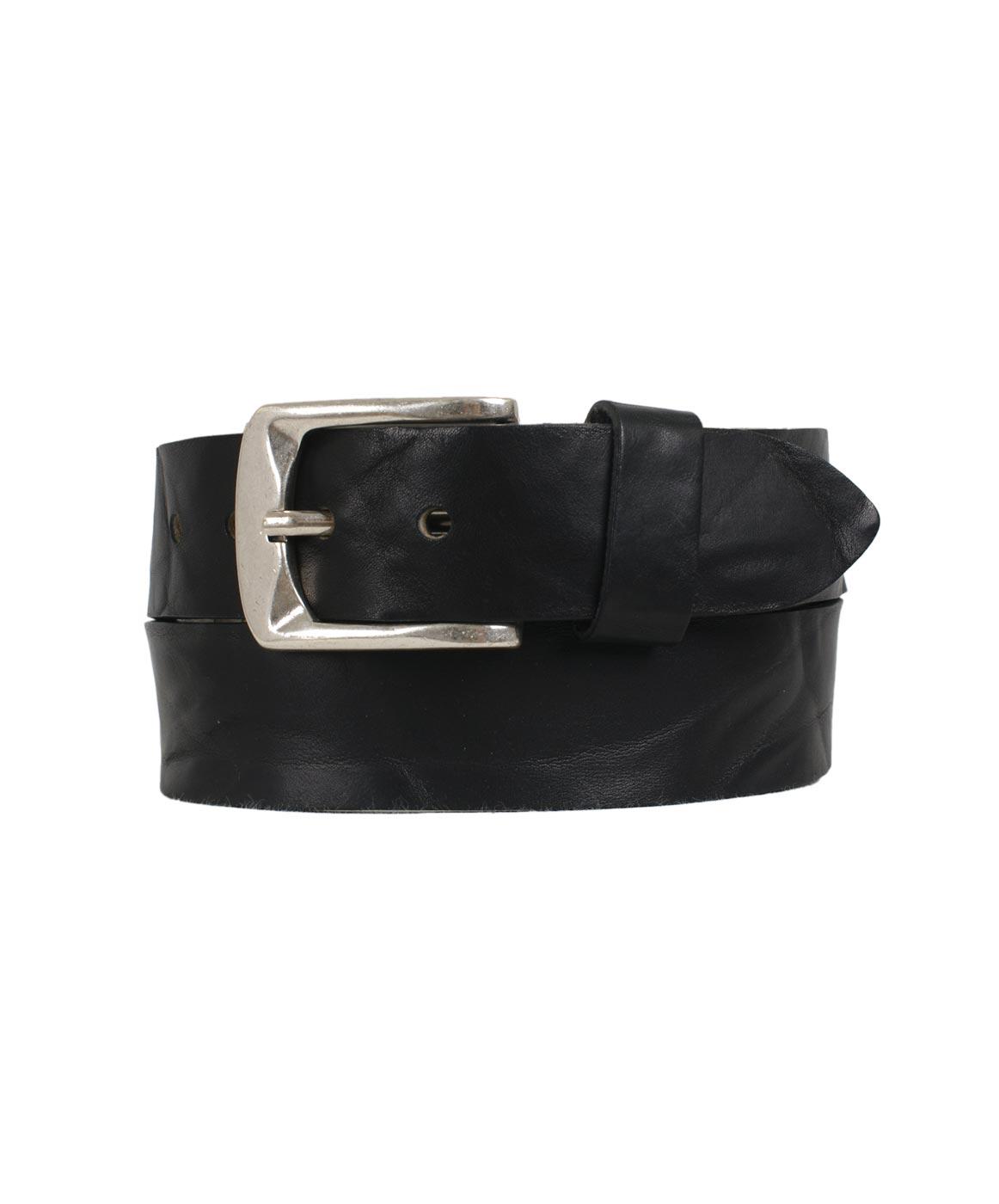 Guertel - Bernd Götz Ledergürtel Damen 4cm Walklederg.geprägt in Black  - Onlineshop Jeans Meile