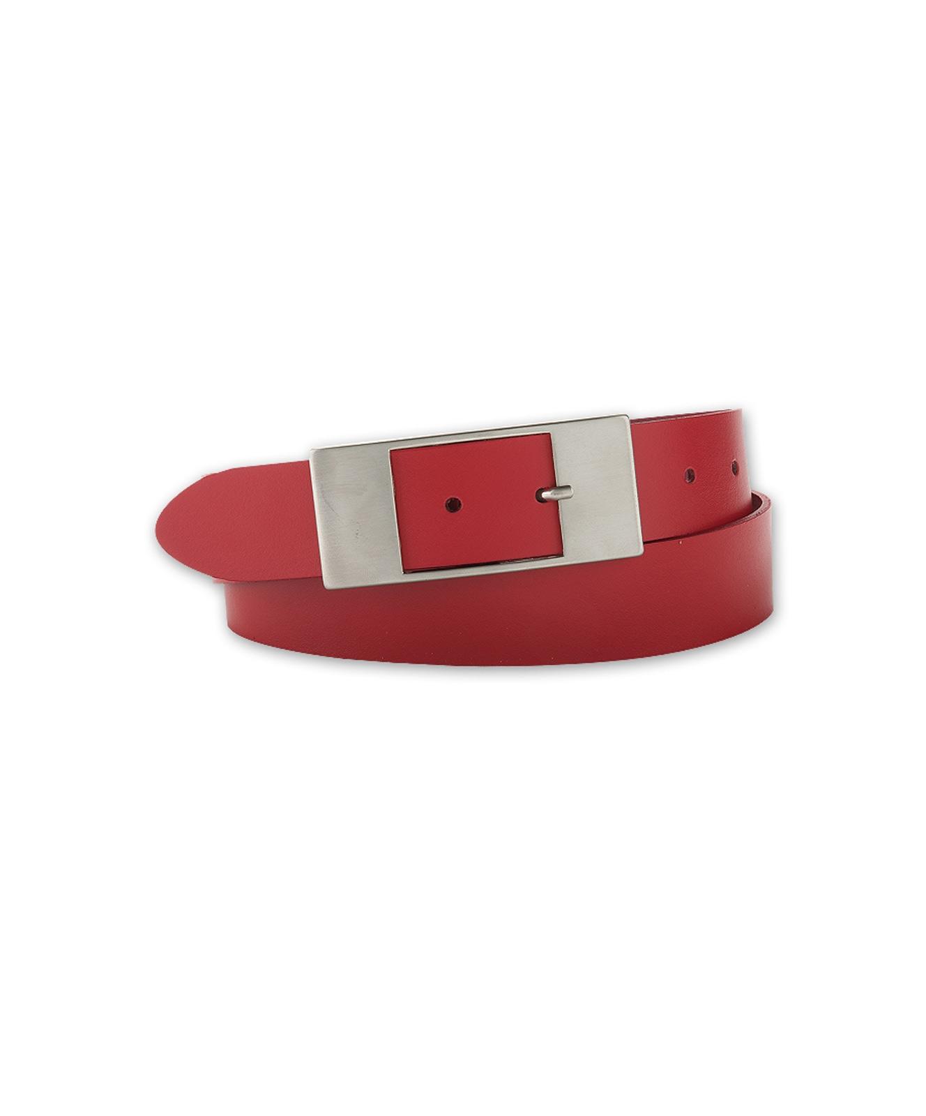 Guertel - Bernd Götz Ledergürtel Damen 3,5cm Softledergürtel in Rot  - Onlineshop Jeans Meile