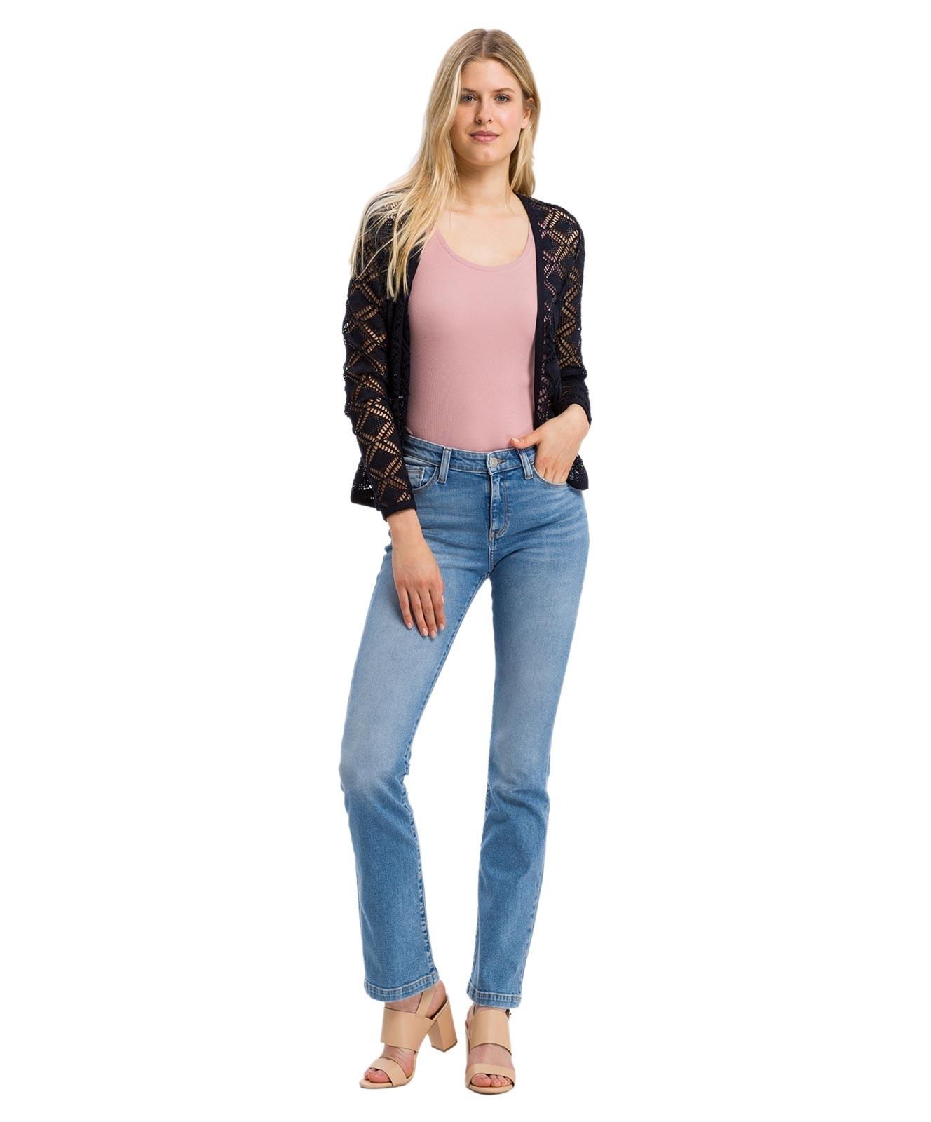 Hosen - Cross Bootcut Jeans Lauren in Light Blue  - Onlineshop Jeans Meile