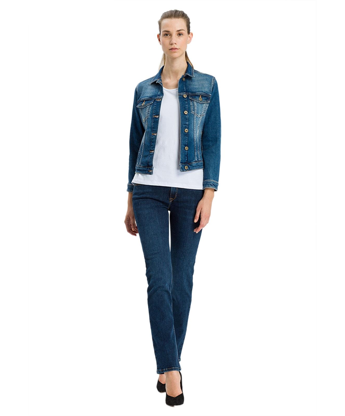 Hosen - Cross Straight Leg Jeans Rose in Dark Used  - Onlineshop Jeans Meile
