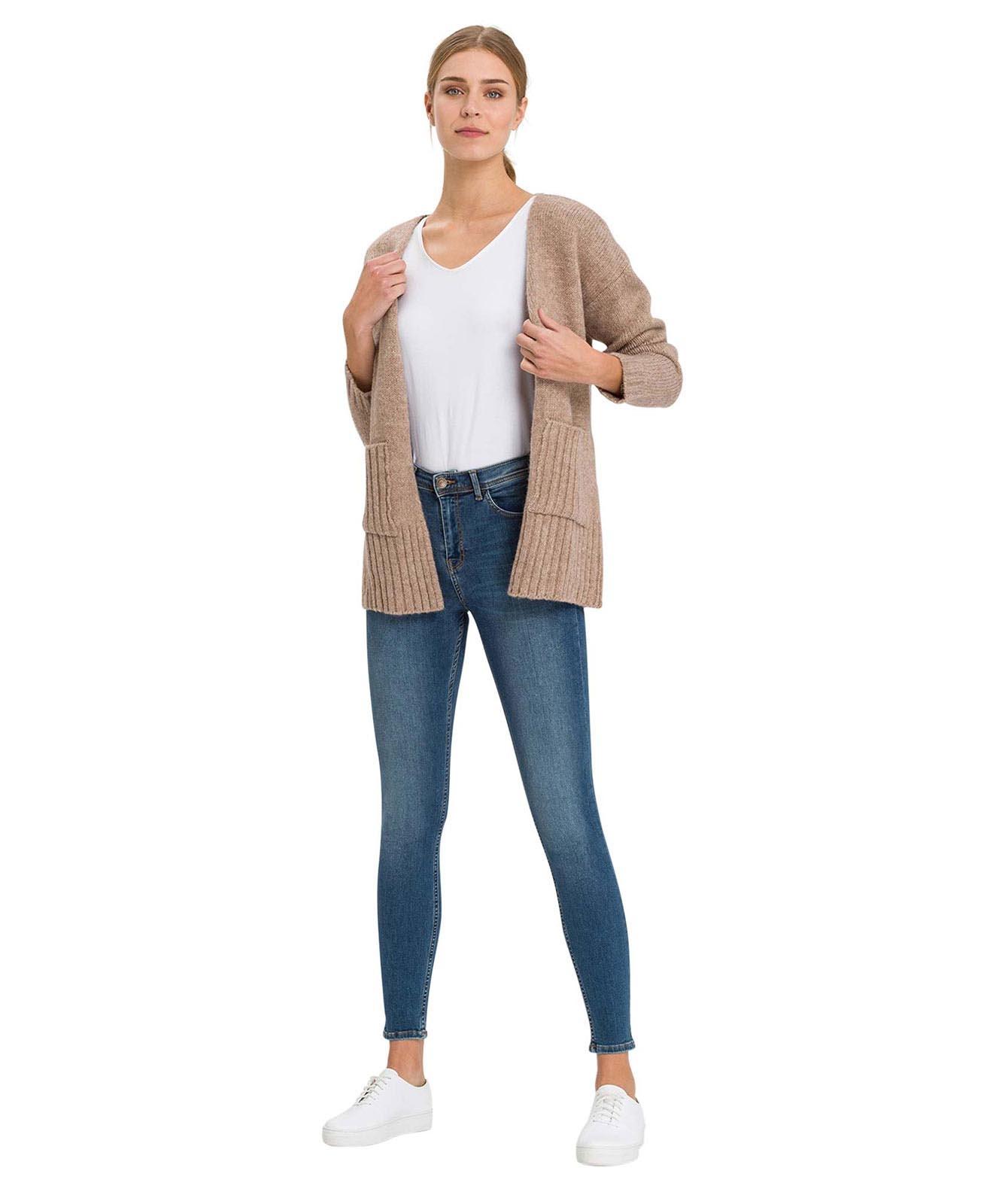 Hosen - Cross Skinny Jeans Judy in Dark Mid Blue  - Onlineshop Jeans Meile