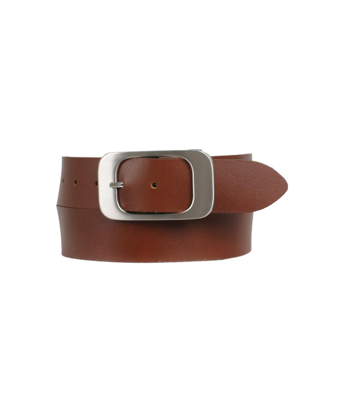 Guertel - Bernd Götz Hüftgürtel Damen 4cm Softledergürtel in Cognac  - Onlineshop Jeans Meile
