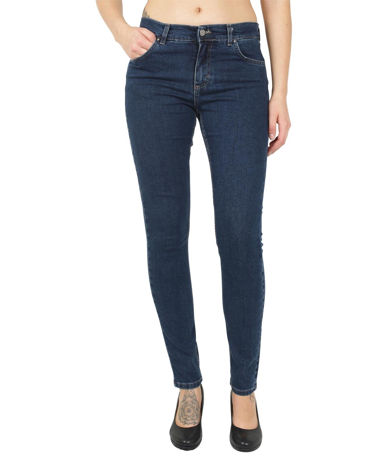 Hosen - Angels Jeans Röhre Skinny in Dark Indigo  - Onlineshop Jeans Meile