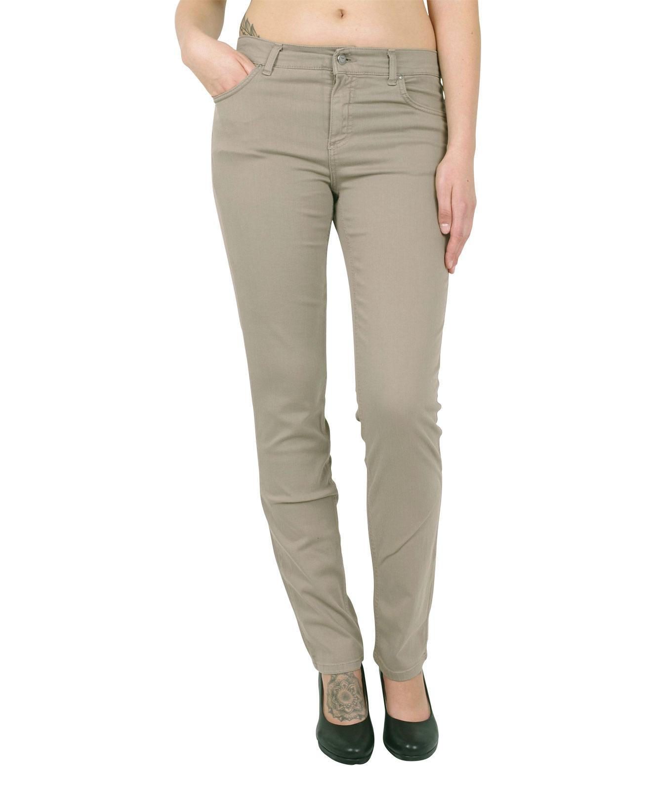 Hosen - Angels Straight Leg Jeans Cici in Dark Kitt  - Onlineshop Jeans Meile