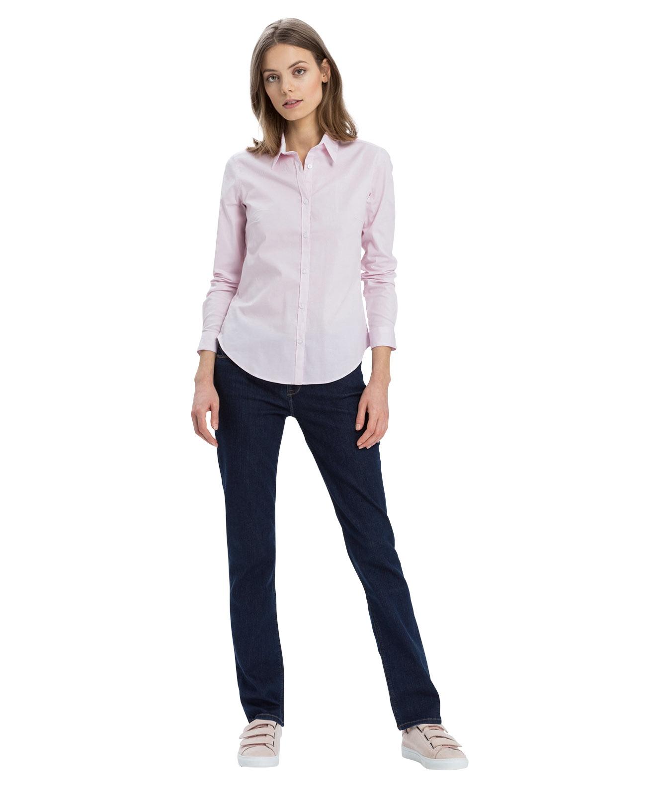 Hosen - Cross Straight Leg Jeans Rose in Clean Dark Blue  - Onlineshop Jeans Meile
