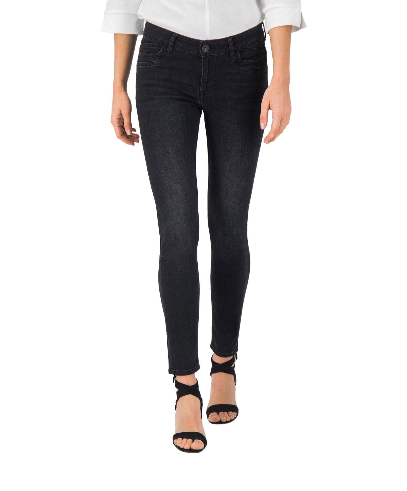 Hosen - Garcia Slim Fit Jeans Rachelle in Dark Used Black  - Onlineshop Jeans Meile