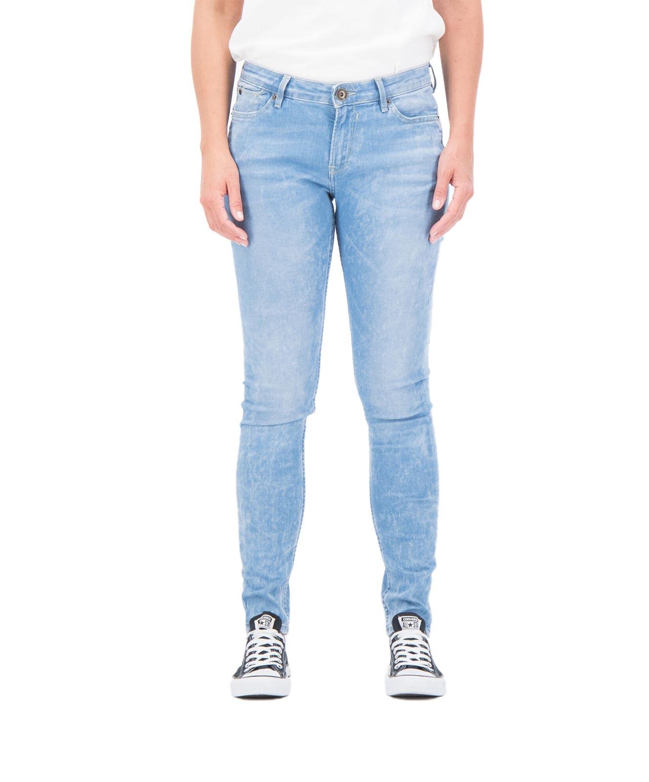 Hosen - Garcia Slim Fit Jeans Rachelle in Light Used  - Onlineshop Jeans Meile