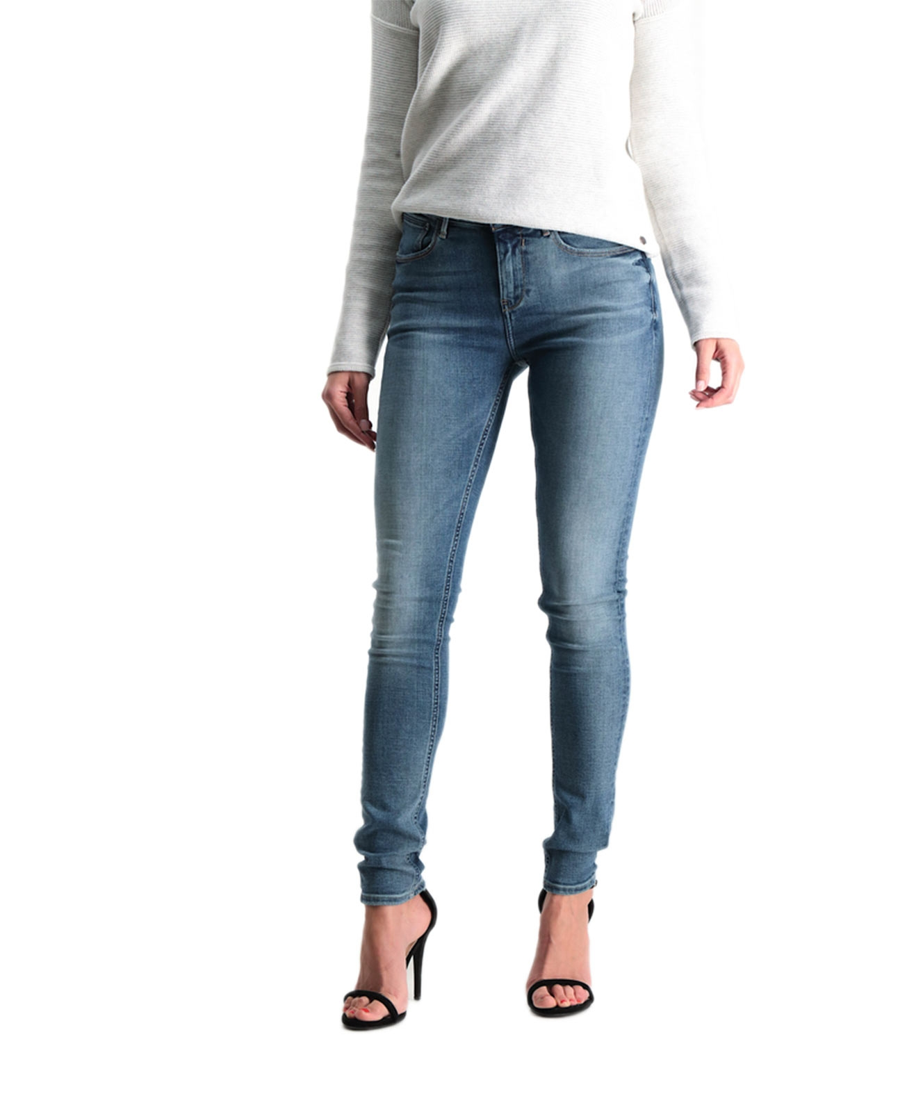 Hosen - Garcia Slim Fit Jeans Celia in Retro Power  - Onlineshop Jeans Meile