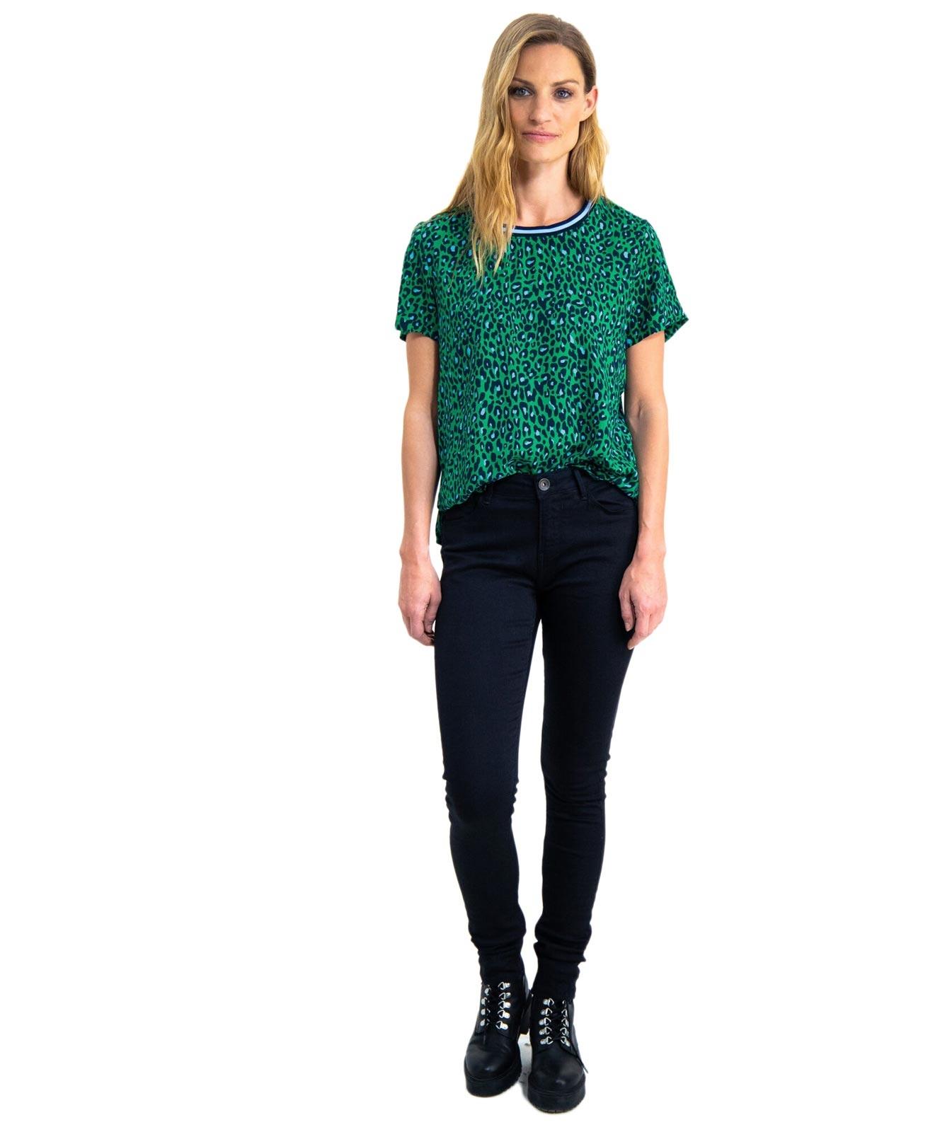 Hosen - Garcia Slim Fit Jeans Celia in Rinsed  - Onlineshop Jeans Meile