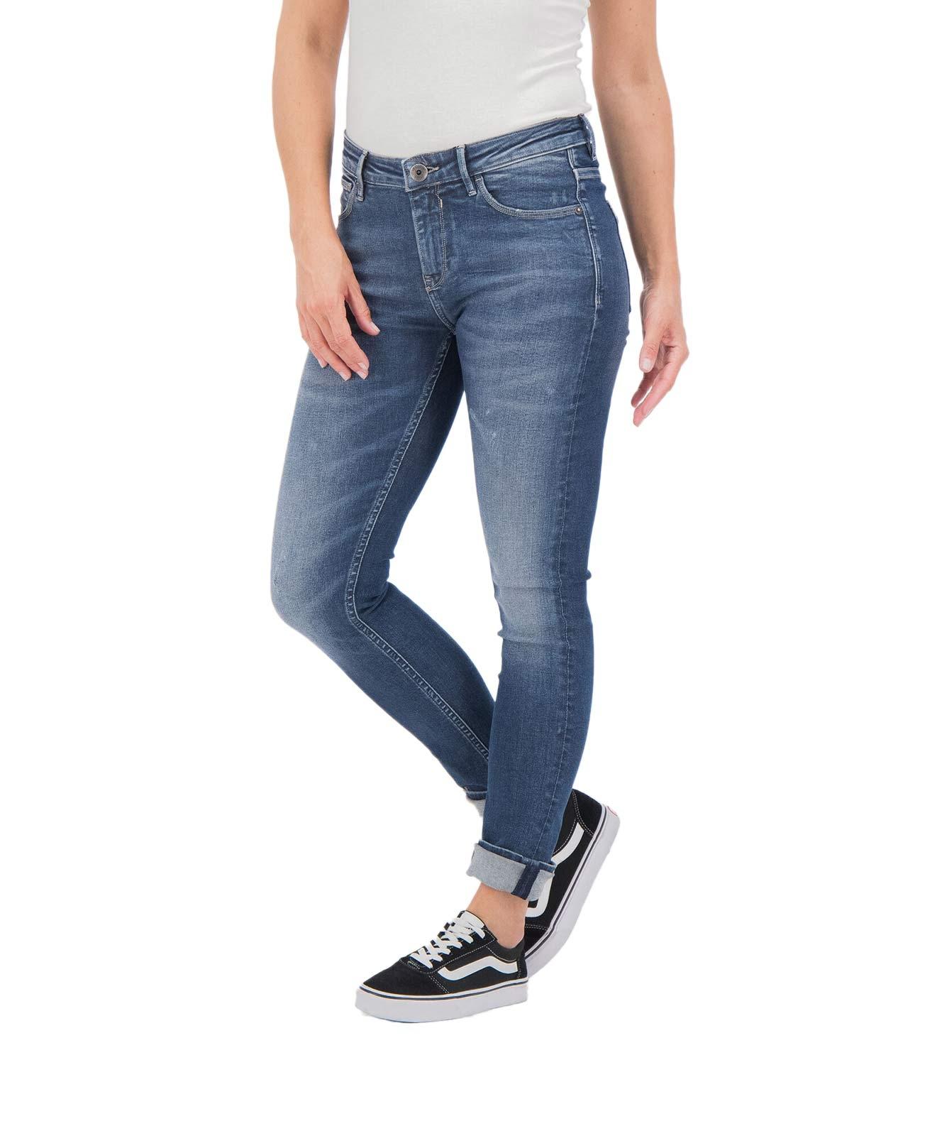Hosen - Garcia Slim Fit Jeans Celia Superslim in Dark Used  - Onlineshop Jeans Meile