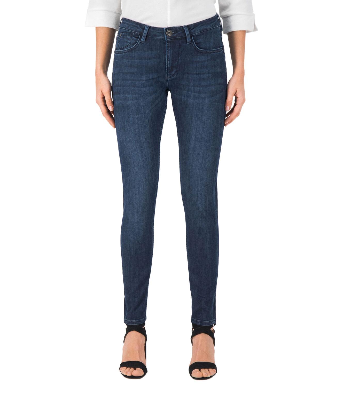 Hosen - Garcia Slim Fit Jeans Rachelle in Dark Used  - Onlineshop Jeans Meile