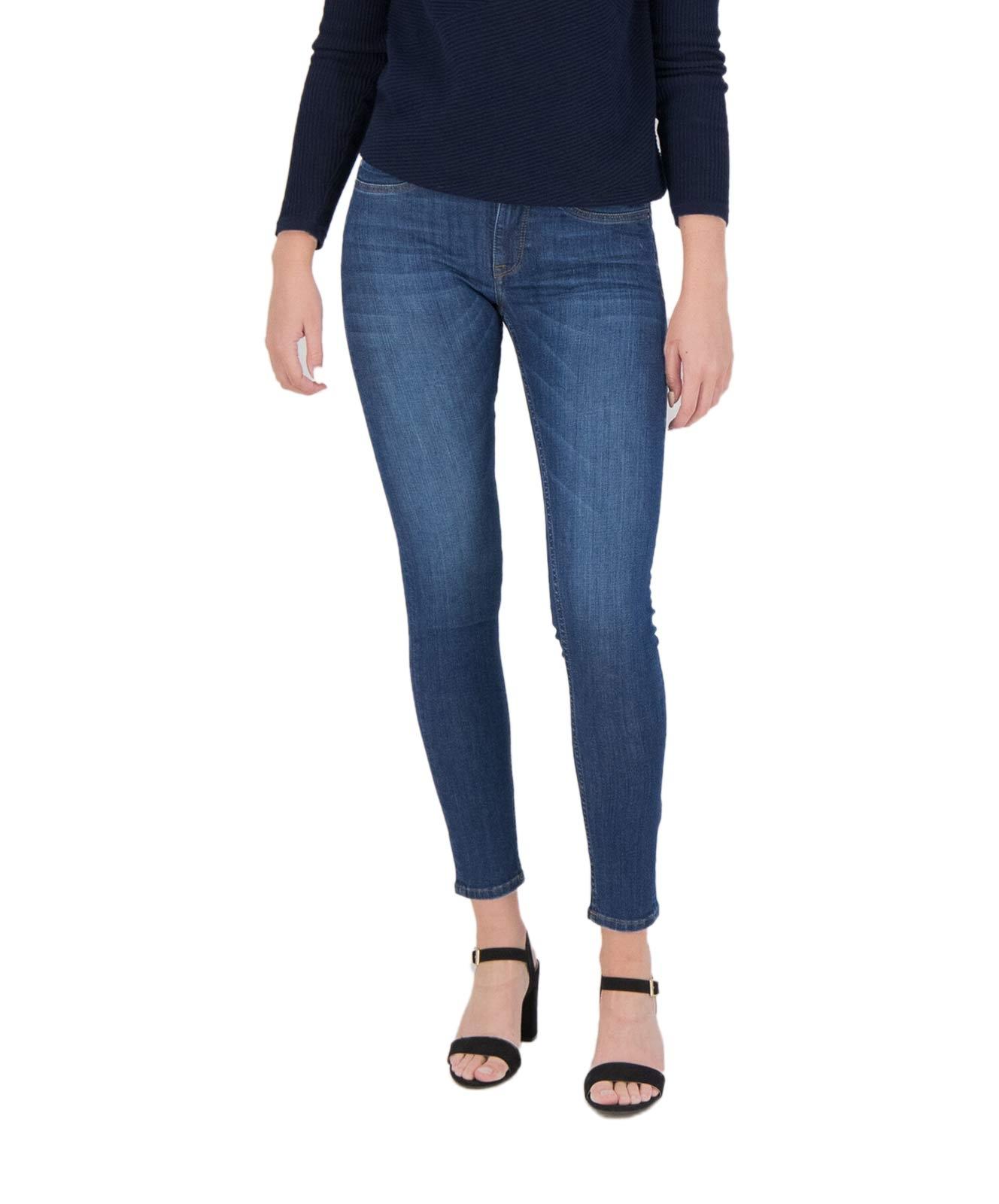 Hosen - Garcia Slim Fit Jeans Rachelle Superslim in Dark Used  - Onlineshop Jeans Meile