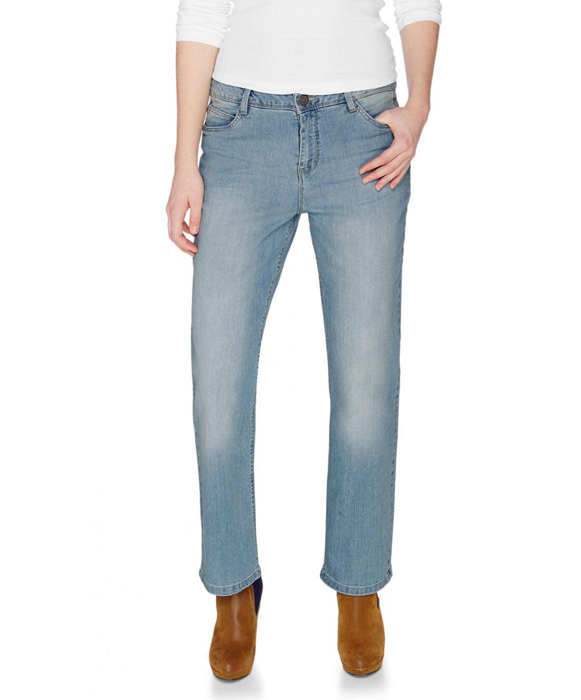 Hosen für Frauen - HIS COLETTA Jeans Comfort Fit Powder Blue  - Onlineshop Jeans Meile