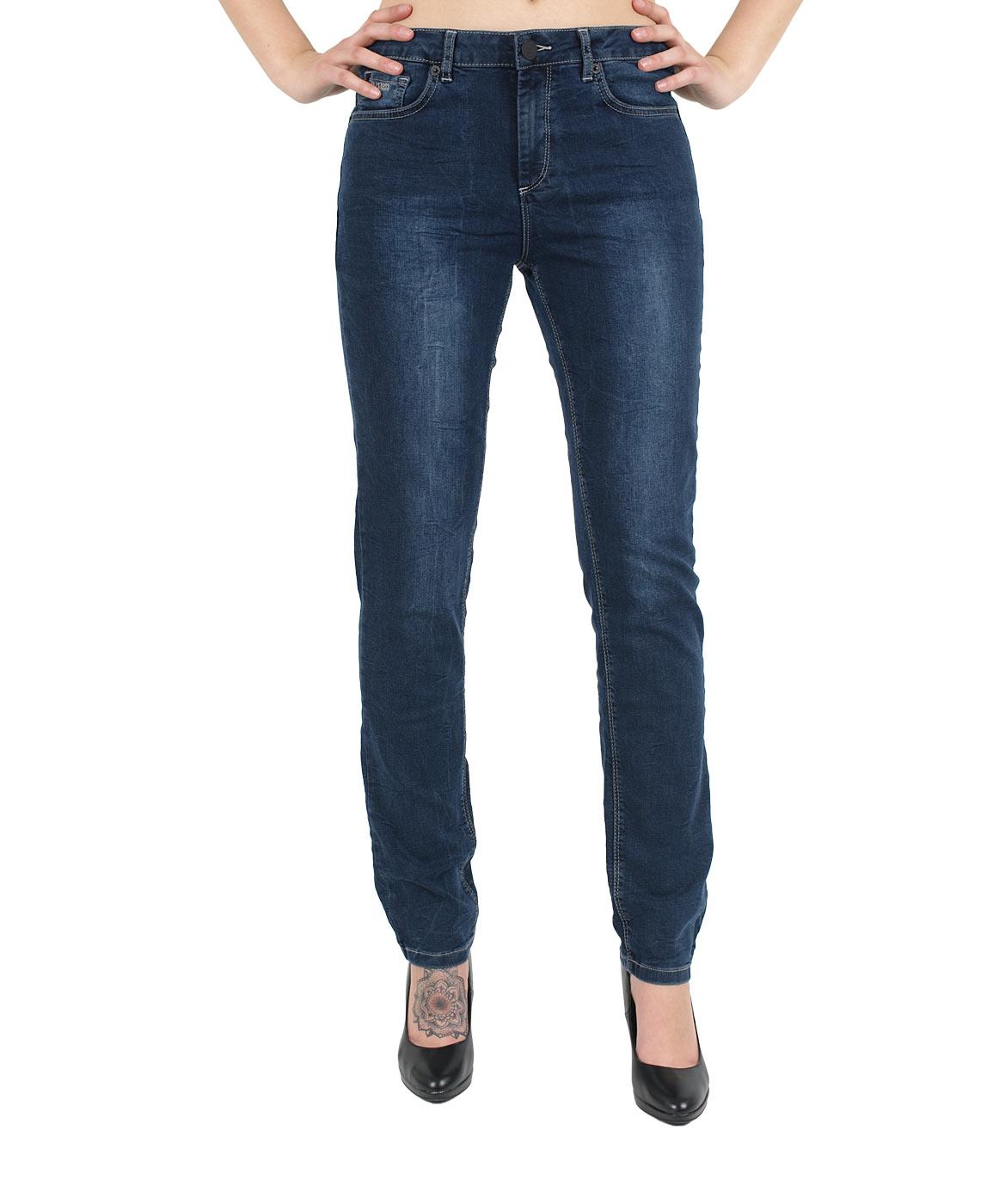 Hosen für Frauen - HIS MARYLIN Jeans Comfort Fit Relax Wash  - Onlineshop Jeans Meile