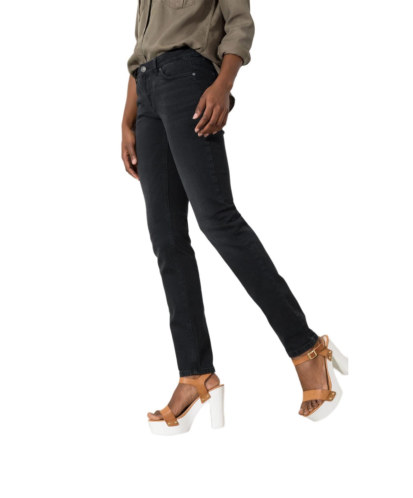 Hosen für Frauen - HIS MONROE Jeans Skinny Fit Advanced Black  - Onlineshop Jeans Meile