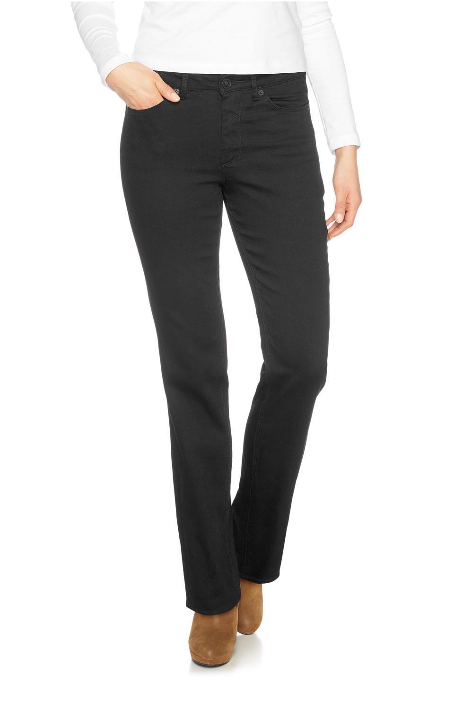 Hosen für Frauen - HIS Madison Jeans Comfort Fit Deep Black  - Onlineshop Jeans Meile