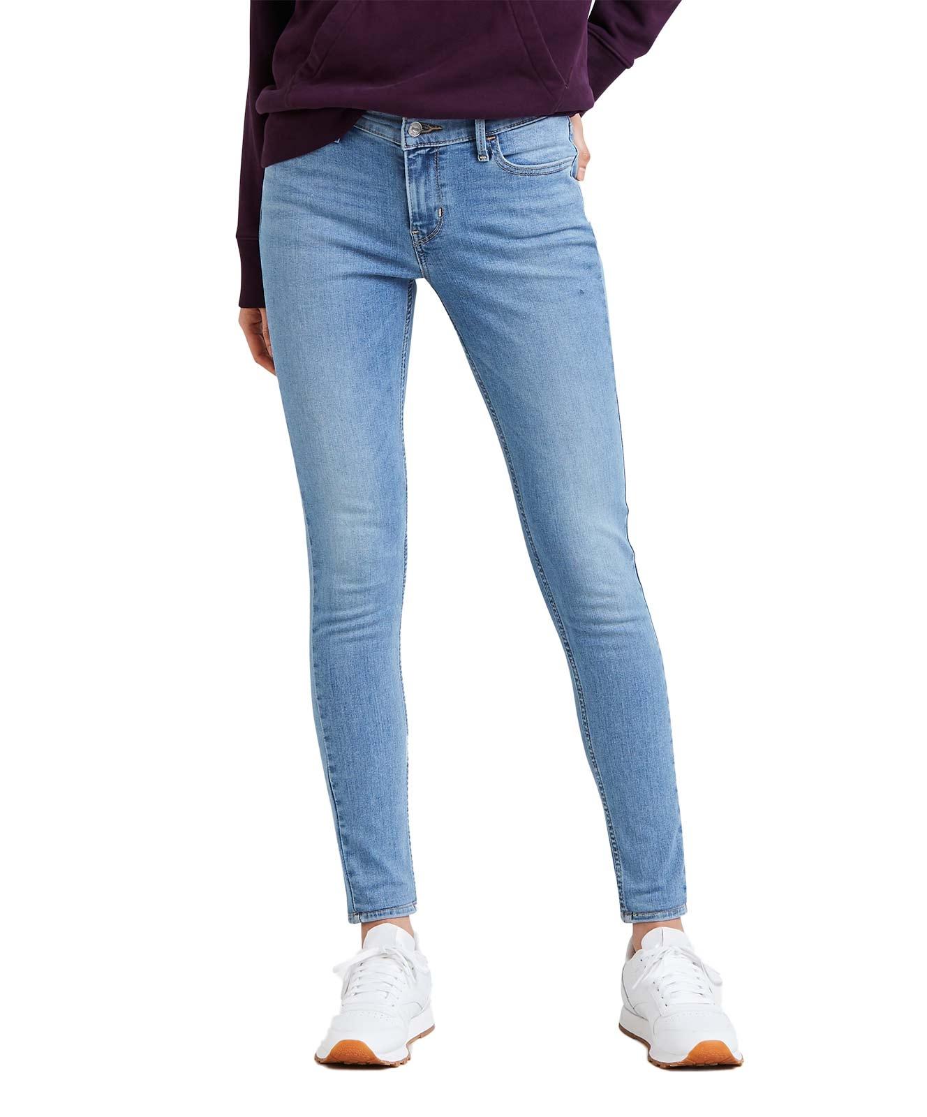Hosen für Frauen - Levi's 710 Super Skinny Jeans mit extrahohen Stretchanteil  - Onlineshop Jeans Meile