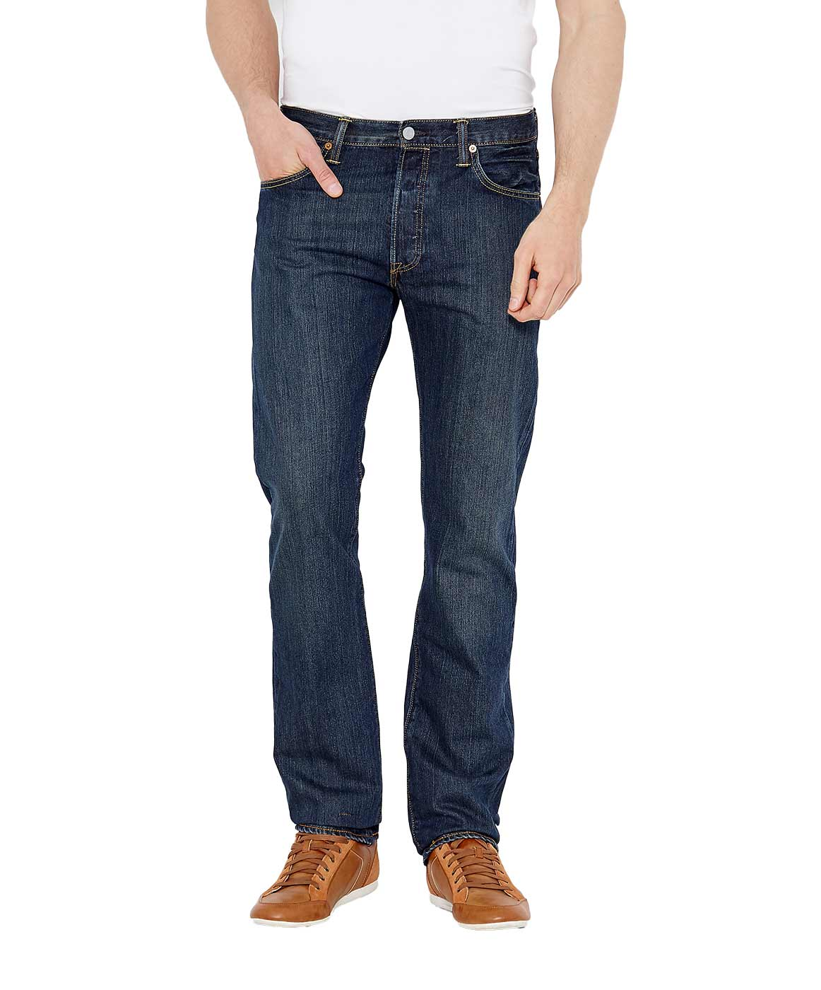 Levi's 501 Jeans - Original Fit - Dark Clean