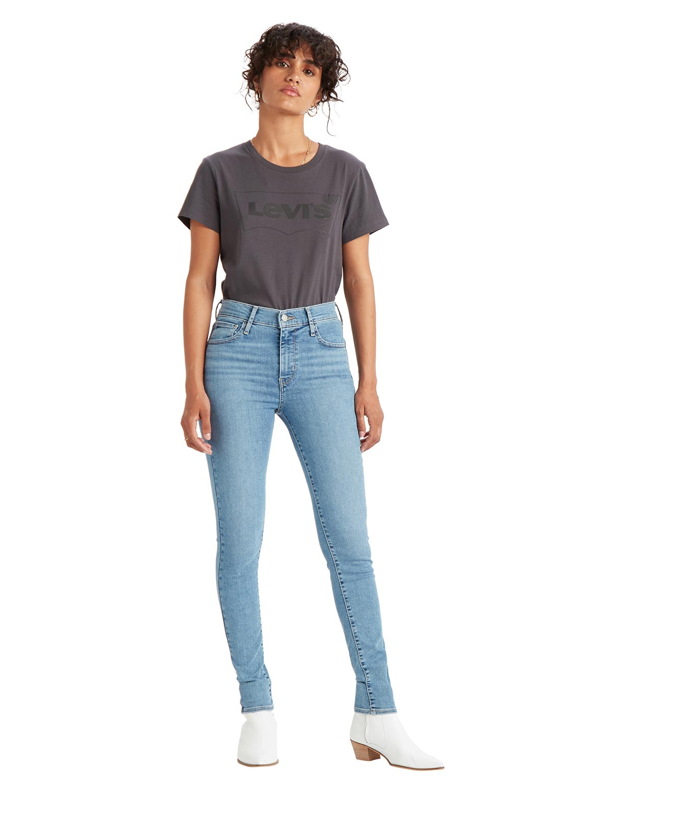 Hosen - Levis High Waisted Jeans 720 High Rise in Velocity Squared  - Onlineshop Jeans Meile