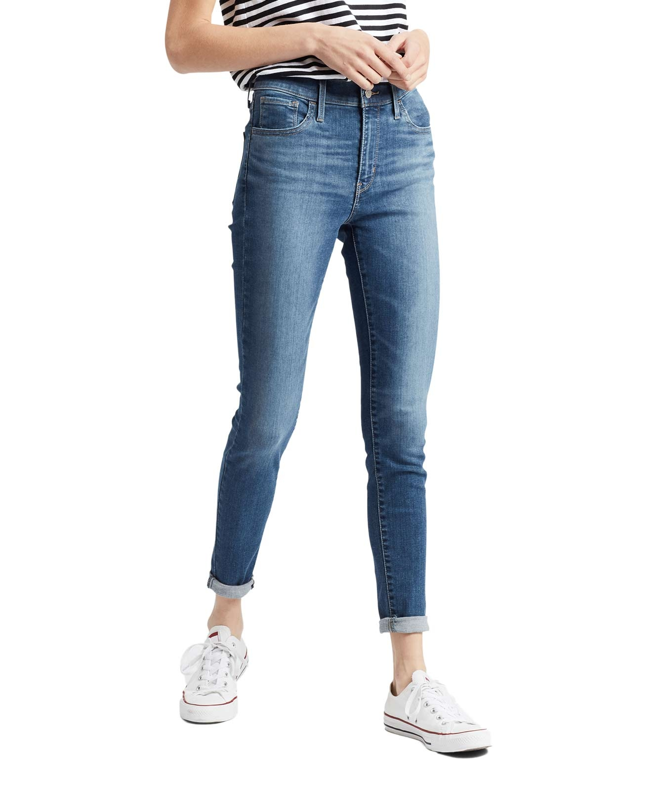 Hosen - Levis 720 hautenge High Waisted Skinny Jeans in Love Ride  - Onlineshop Jeans Meile