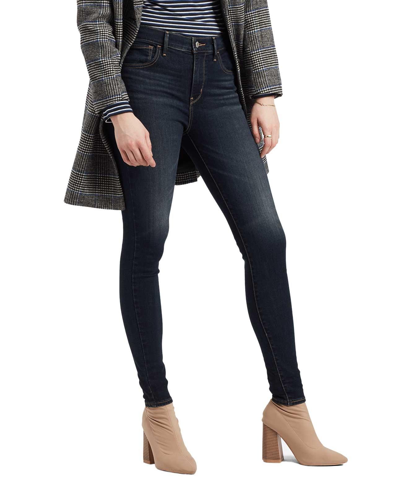 Hosen für Frauen - Levis 720 High Waisted Super Skinny Jeans  - Onlineshop Jeans Meile