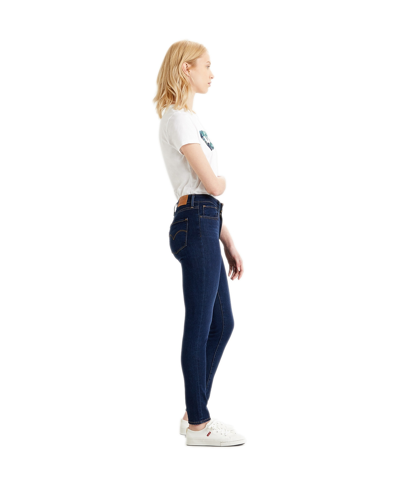 Hosen - Levis High Waisted Jeans 721 High Rise Skinny in Bogota Feels  - Onlineshop Jeans Meile