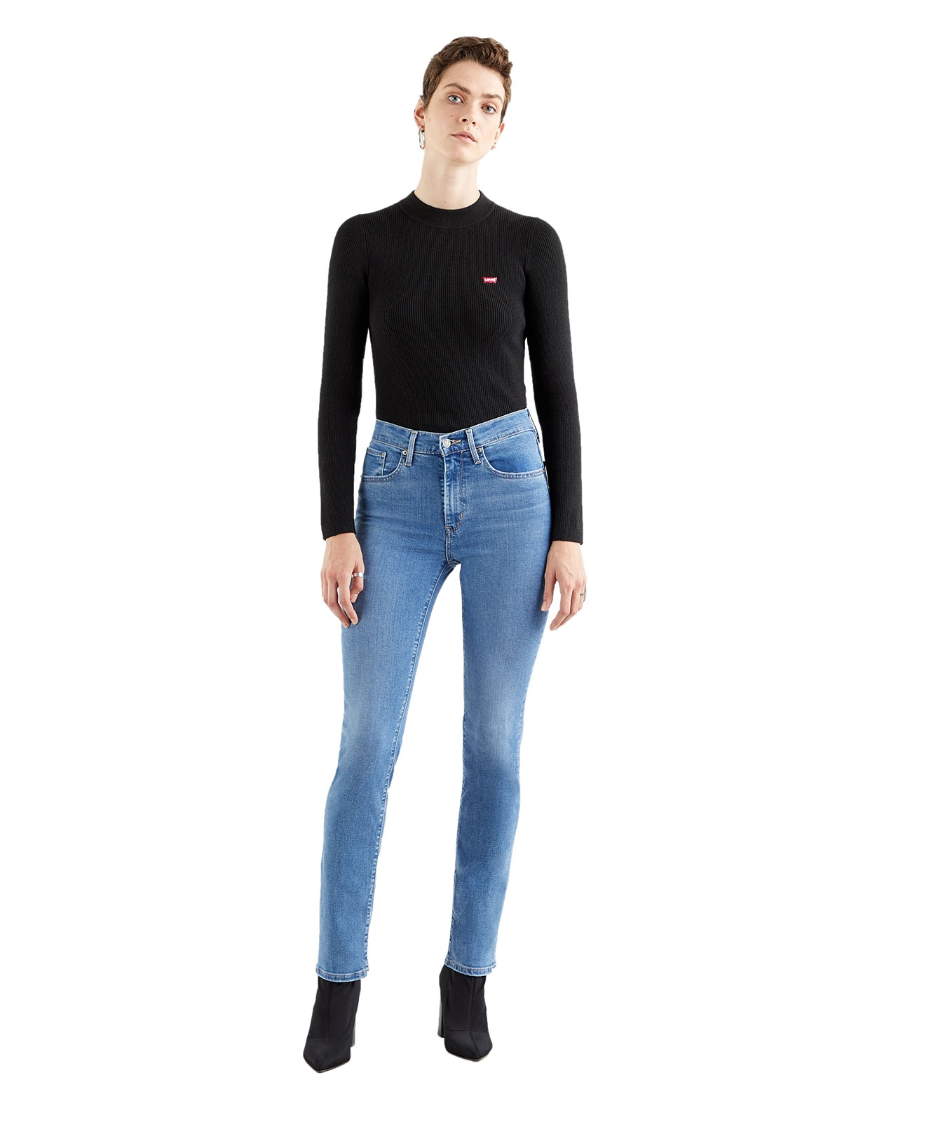 Hosen - Levis High Waisted Jeans 724 in Rio Frost  - Onlineshop Jeans Meile