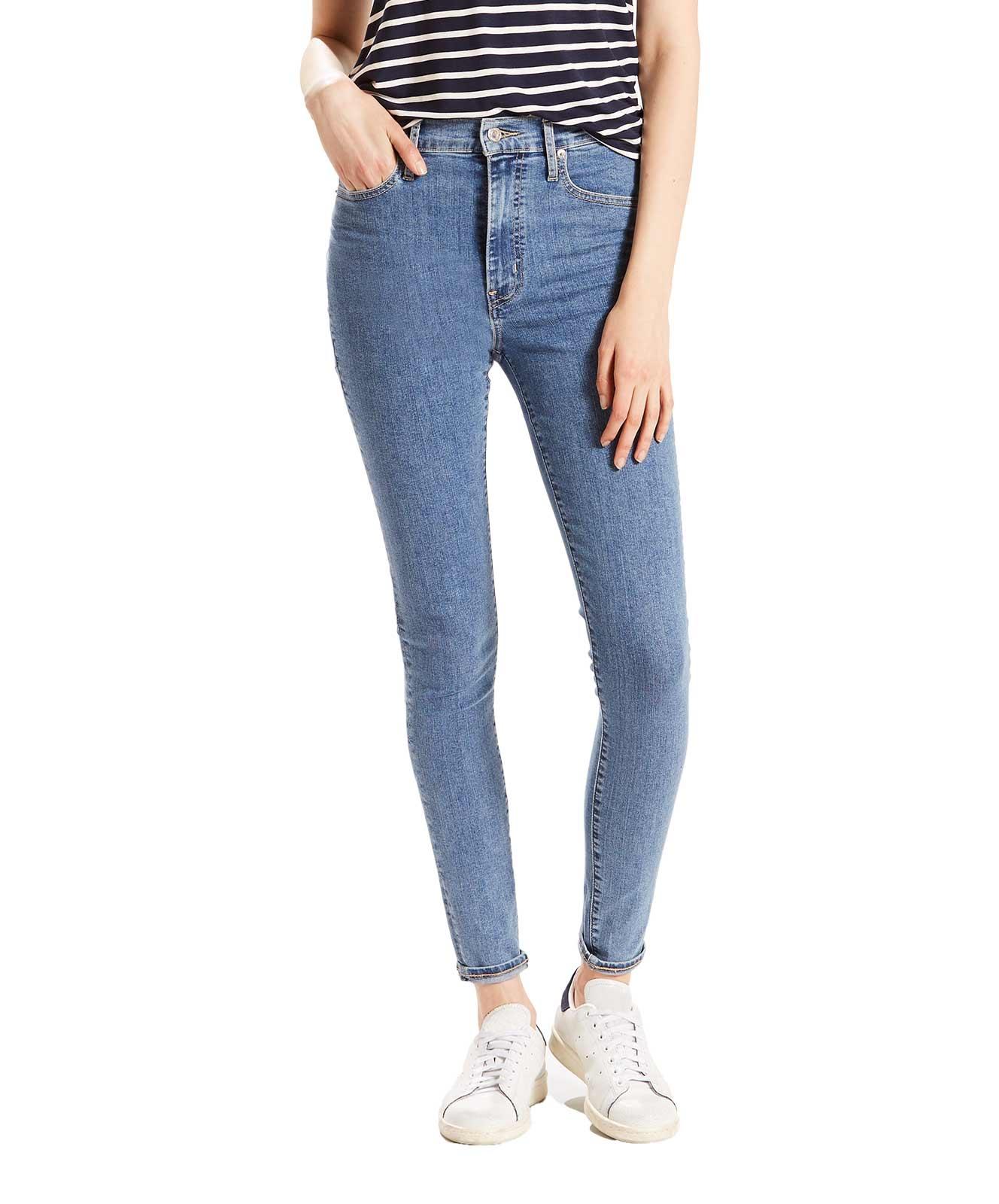 Hosen für Frauen - LEVI'S Mile High Super Skinny Jeans Cast Away  - Onlineshop Jeans Meile