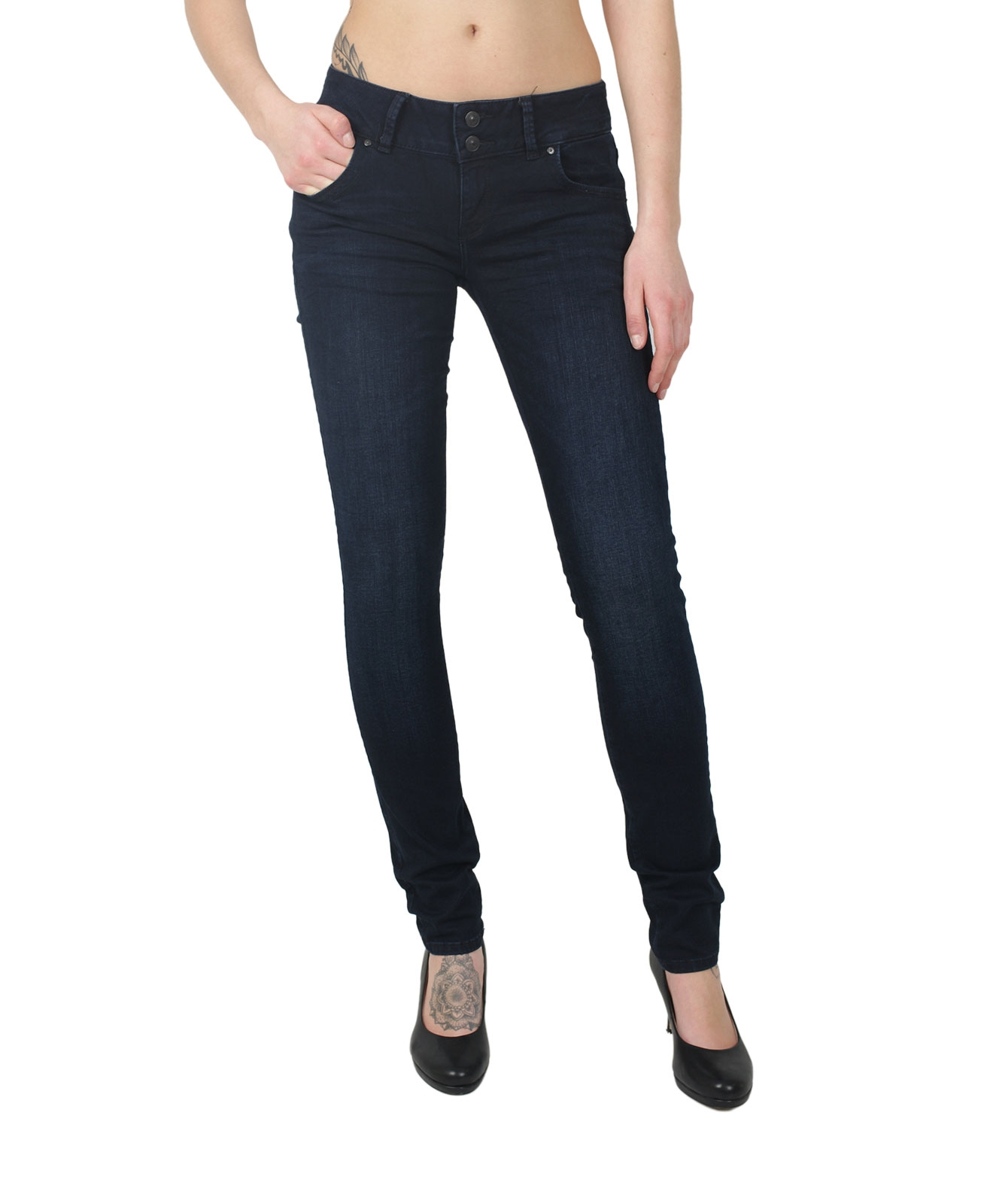 Hosen - LTB Jeans Röhre Molly in Coliann Wash  - Onlineshop Jeans Meile