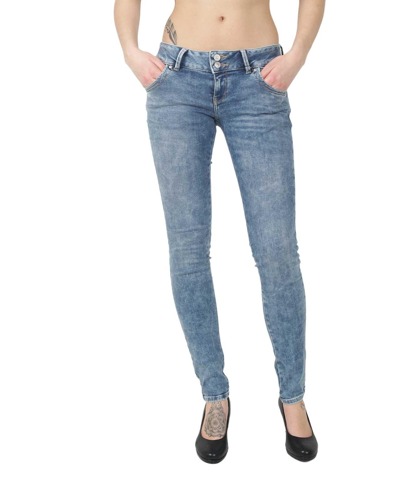 Hosen - LTB Jeans Röhre Molly in Etu Wash  - Onlineshop Jeans Meile