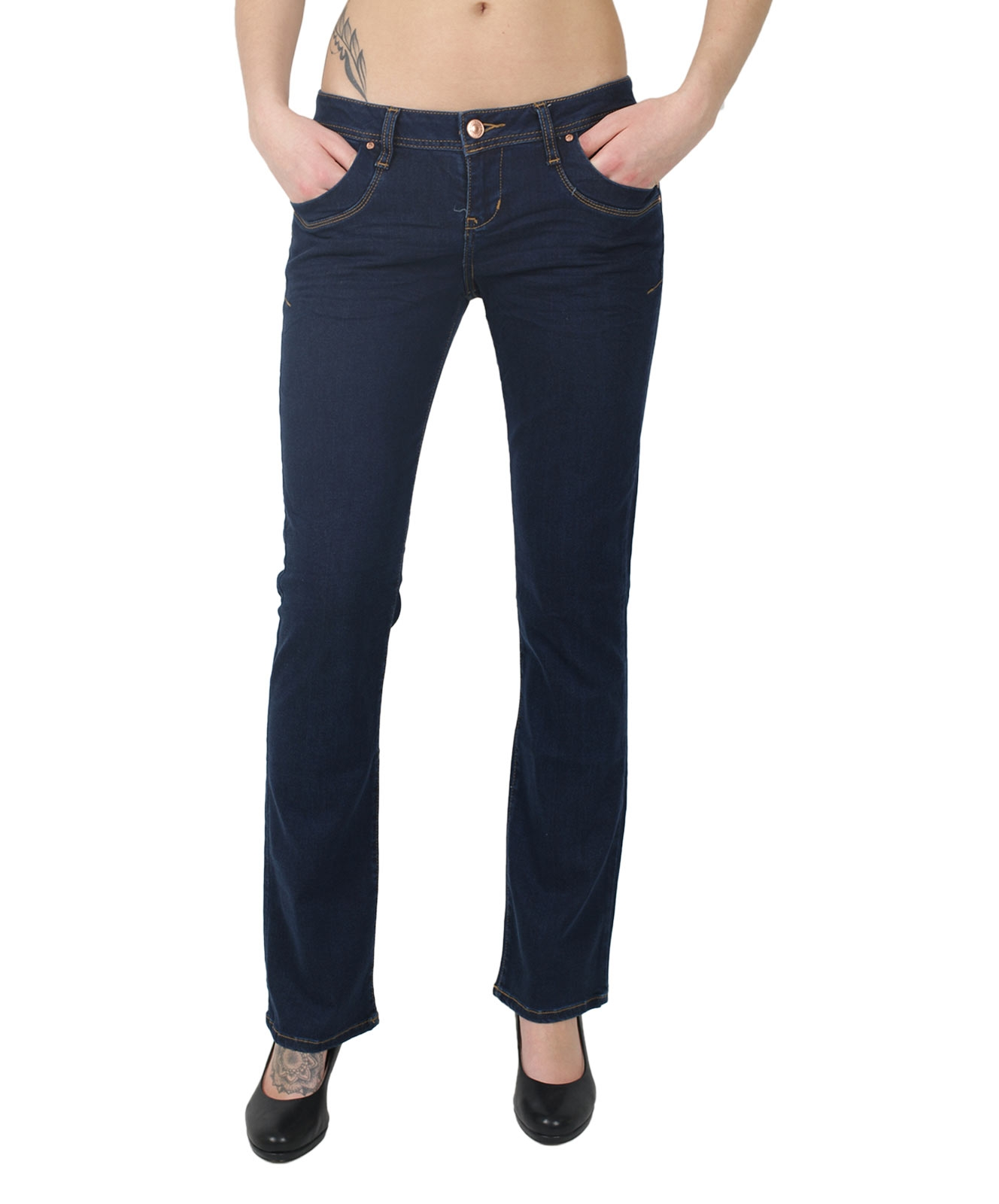 Hosen - LTB Bootcut Jeans Valerie in Mila Wash  - Onlineshop Jeans Meile