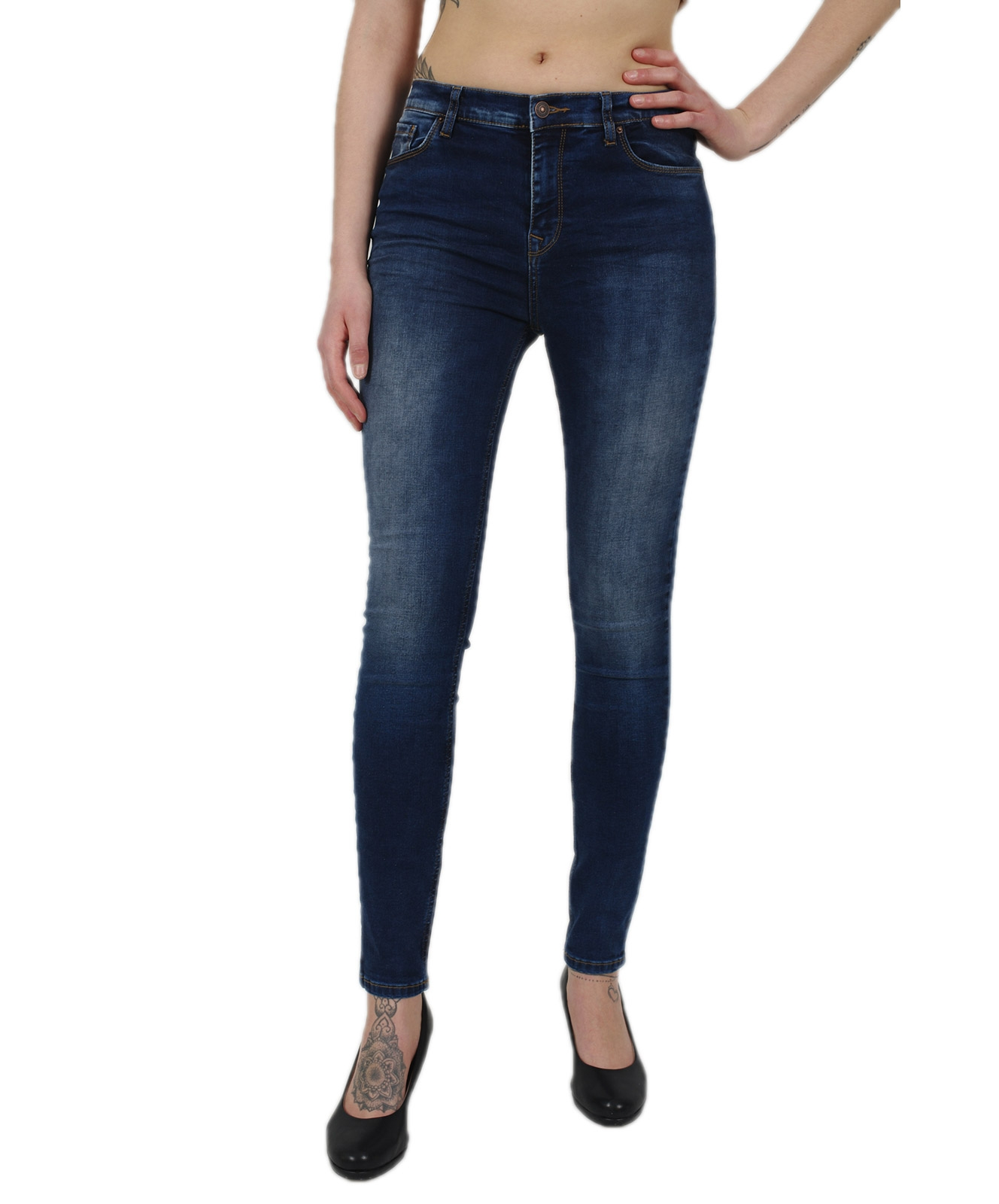 Hosen - LTB Ankle Jeans Amy in Ikeda Wash  - Onlineshop Jeans Meile