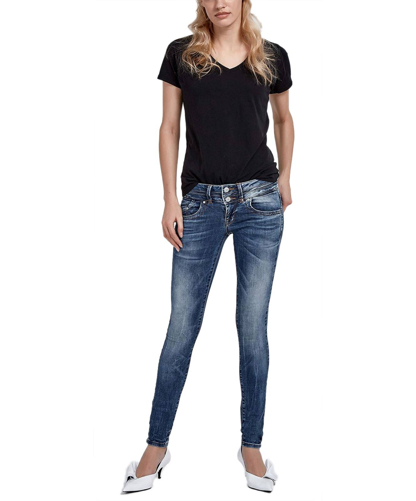 Hosen - LTB Skinny Jeans Julita X in Angellis Wash  - Onlineshop Jeans Meile