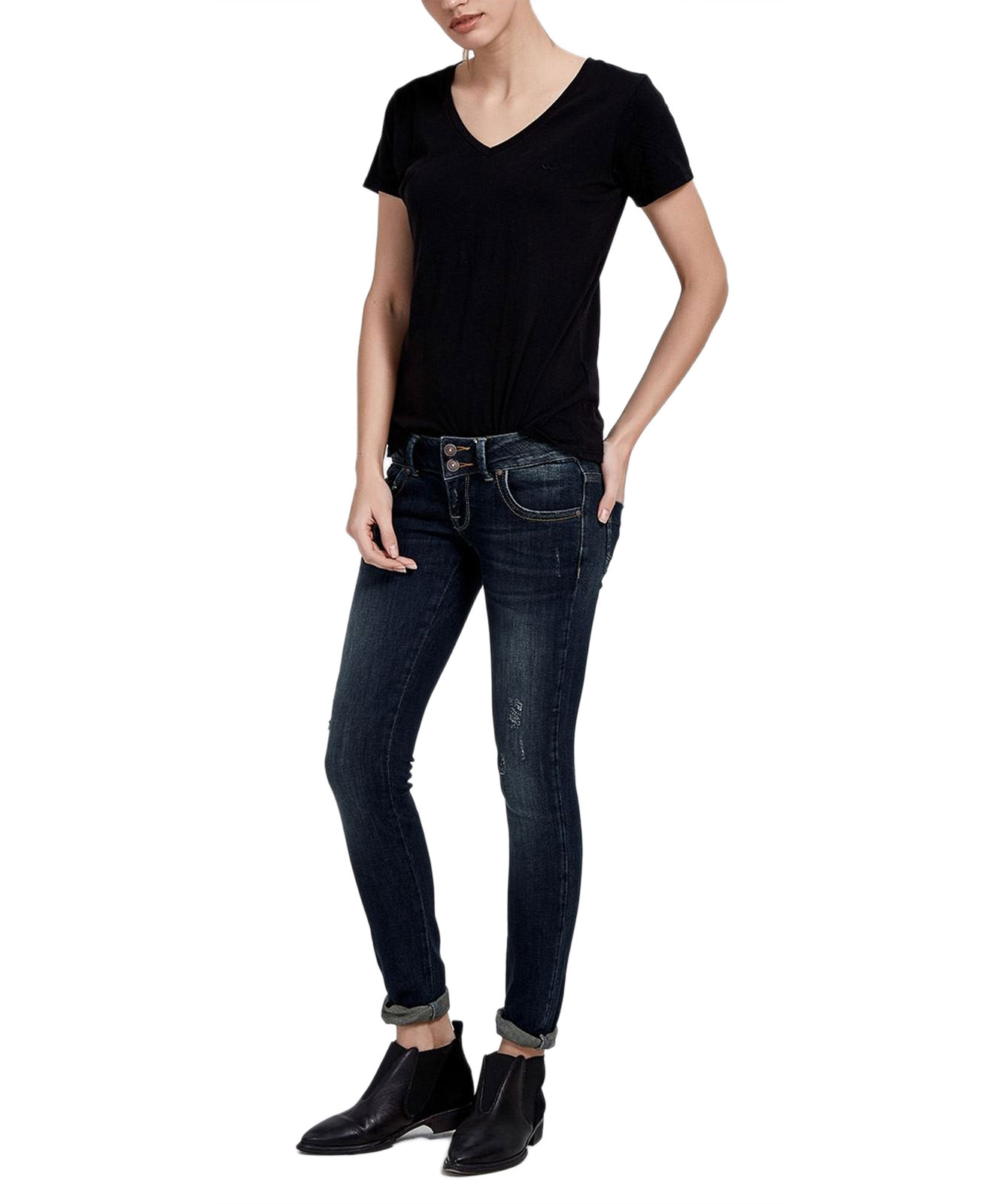 Hosen - LTB Jeans Röhre Molly in Oxford  - Onlineshop Jeans Meile
