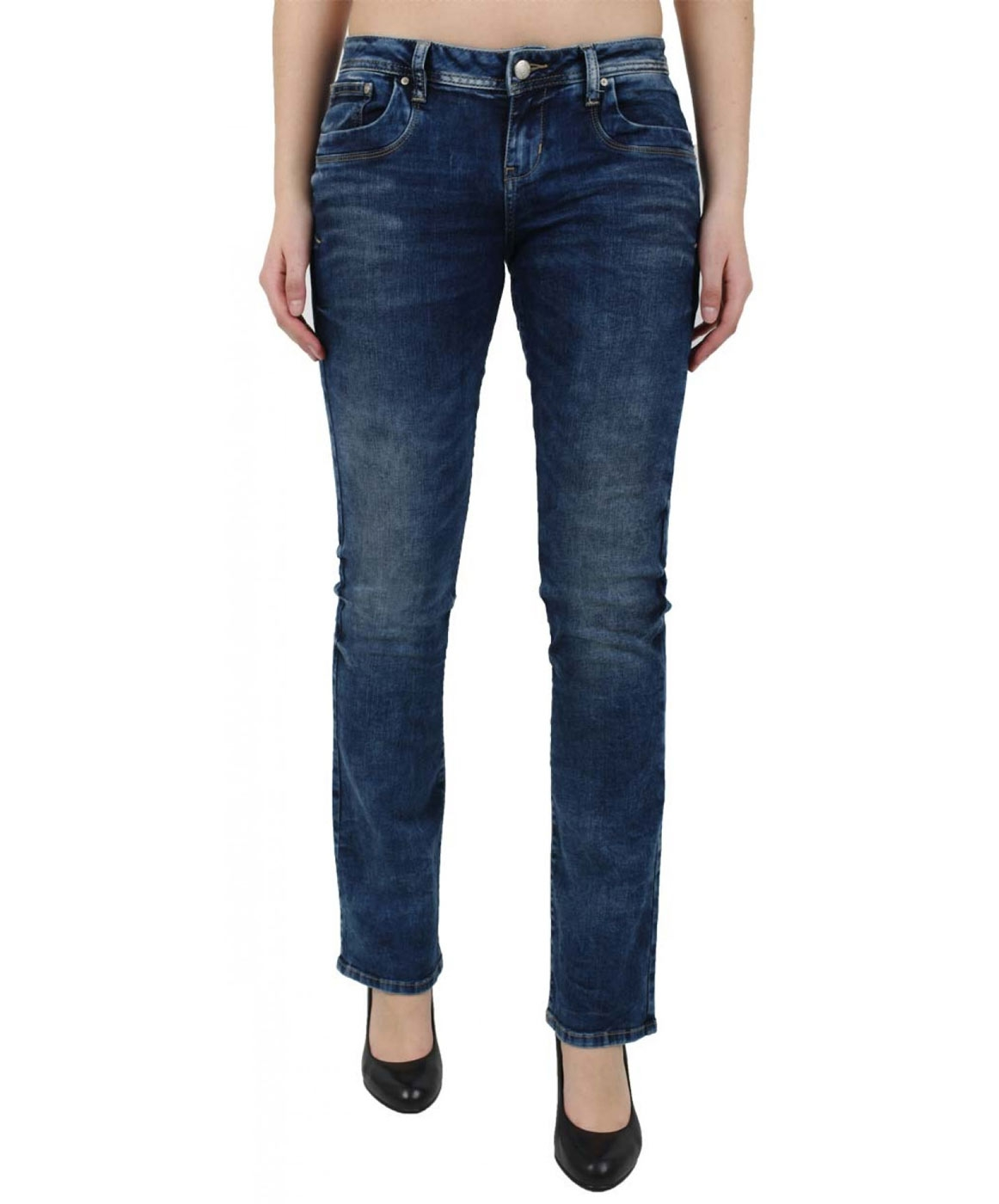 Hosen - LTB Bootcut Jeans Valerie in Blue Lapis  - Onlineshop Jeans Meile