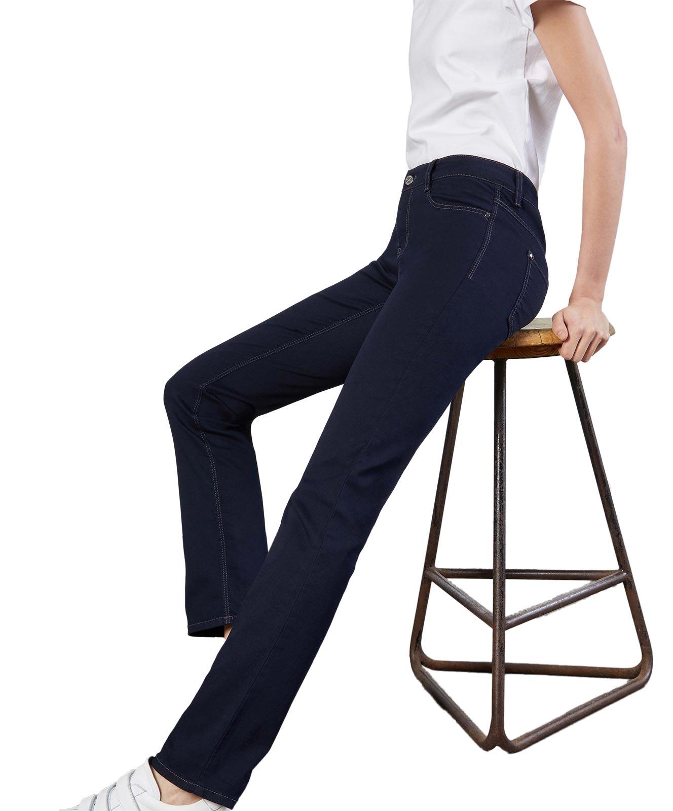 Hosen - MAC Straight Leg Jeans Dream in Dark Rinsewash  - Onlineshop Jeans Meile