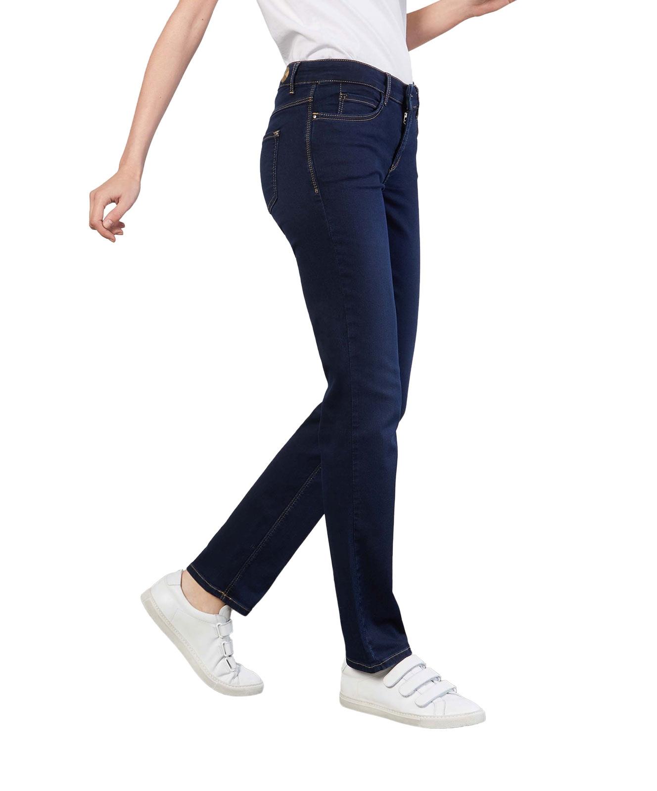 Hosen - MAC Straight Leg Jeans Dream in Mid Blue Authentic Wash  - Onlineshop Jeans Meile
