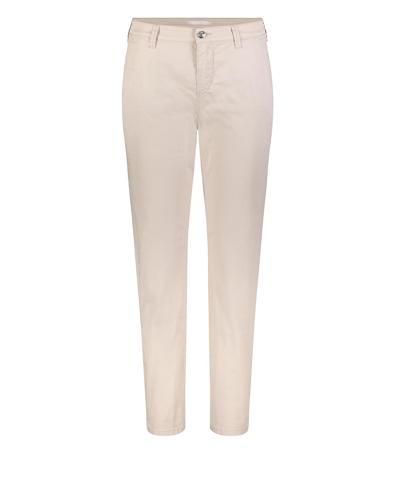 Mac Chino - Beige Damenhose in modischer Casual-Optik-D42 / L30
