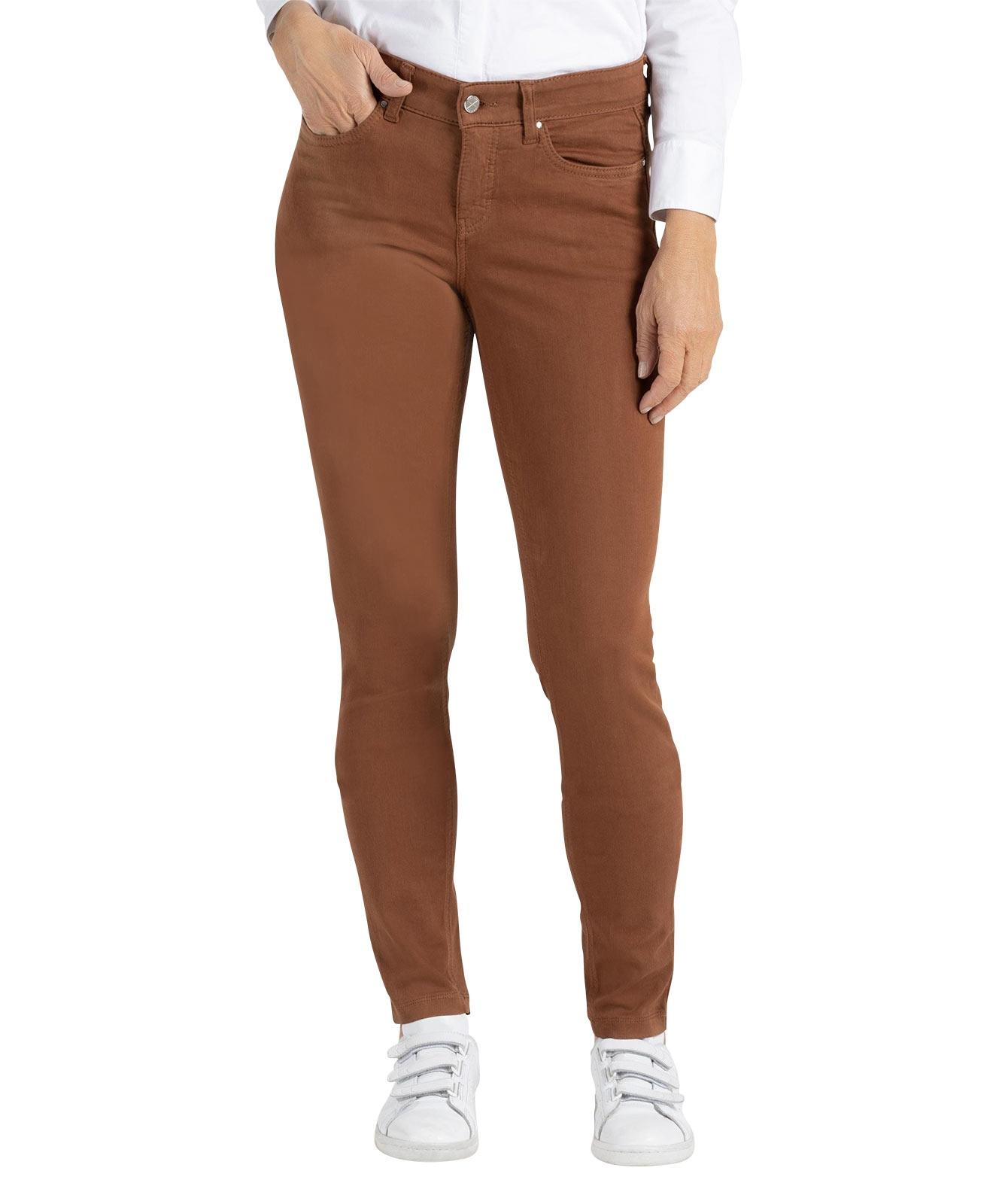 Hosen - MAC Skinny Jeans Dream Skinny in Bison Brown  - Onlineshop Jeans Meile