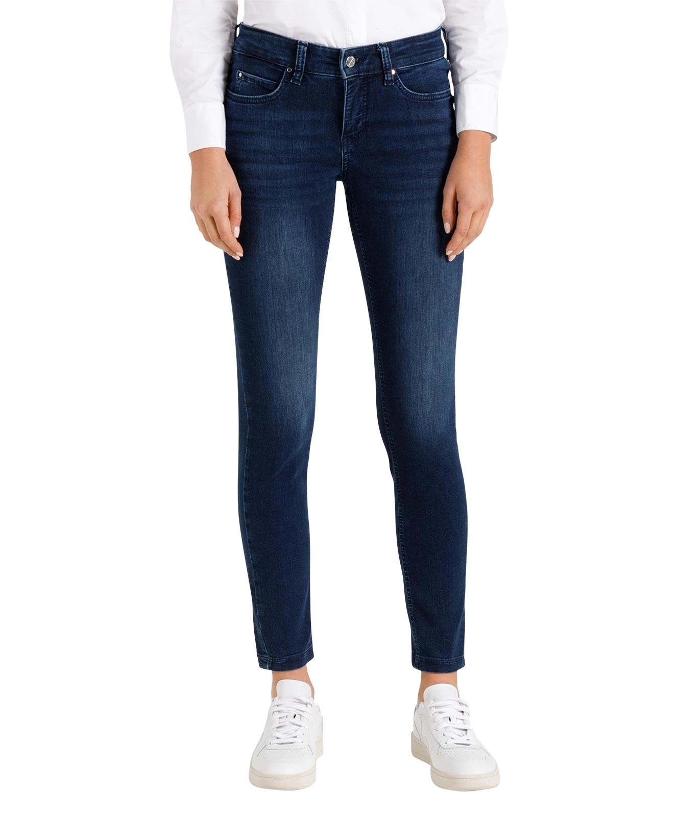 Hosen - MAC Skinny Jeans Dream Skinny Authentic in Basic Slight Used Blue  - Onlineshop Jeans Meile
