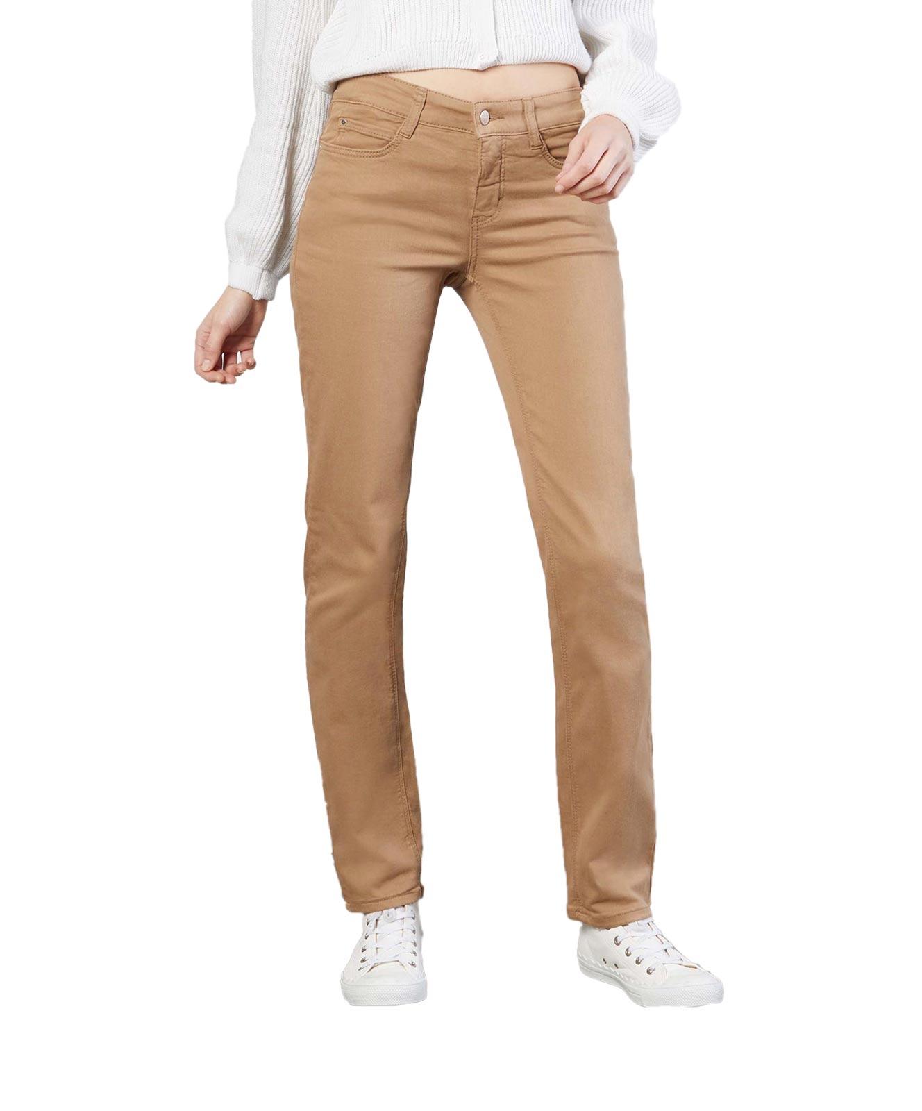 Hosen - MAC Straight Leg Jeans Dream in Light Cognac  - Onlineshop Jeans Meile