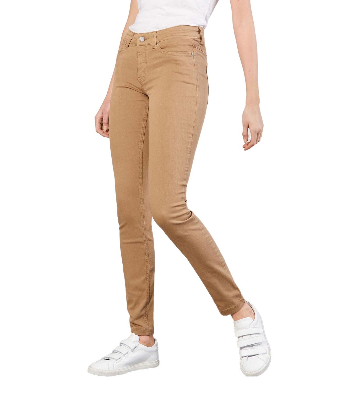 Hosen - MAC Skinny Jeans Dream Skinny in Light Cognac  - Onlineshop Jeans Meile